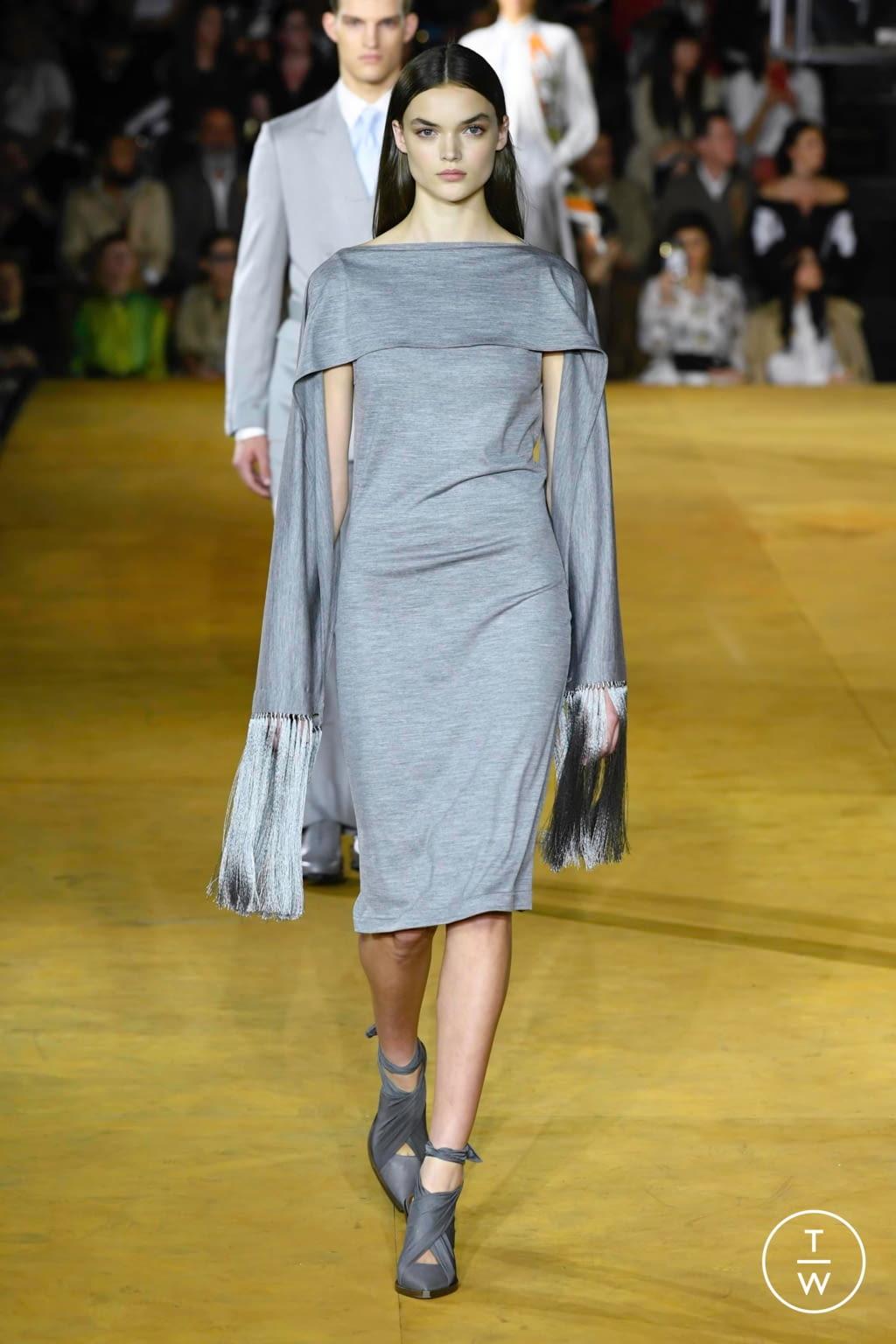 Fashion Week London Spring/Summer 2020 look 8 de la collection Burberry womenswear