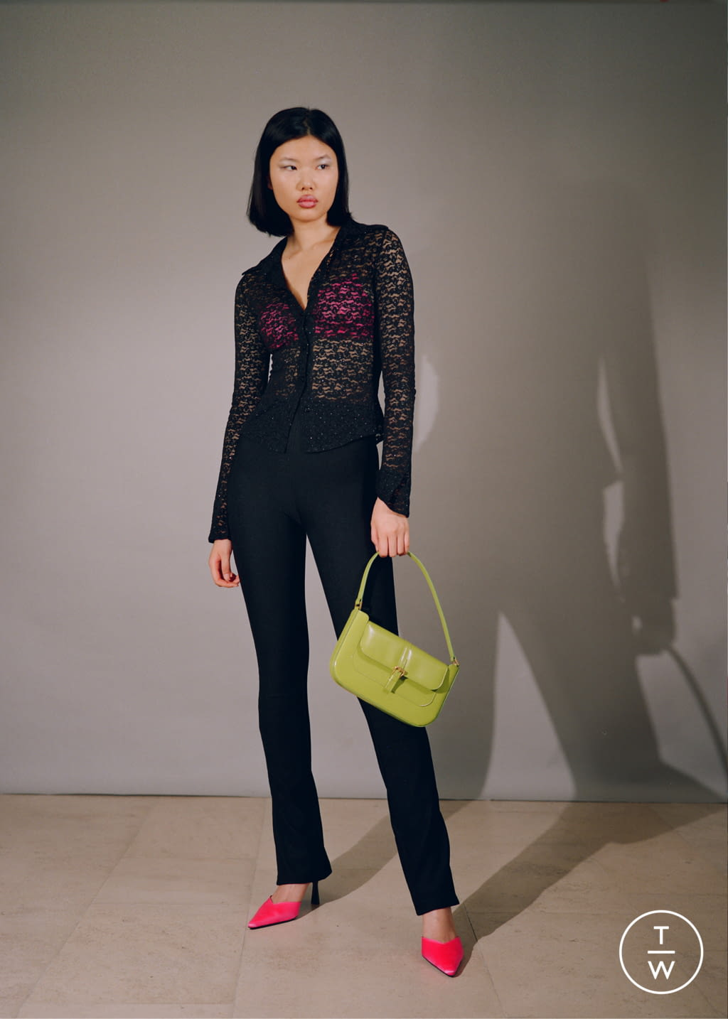 Fashion Week Paris Fall/Winter 2020 look 84 from the By Far collection womenswear accessories
