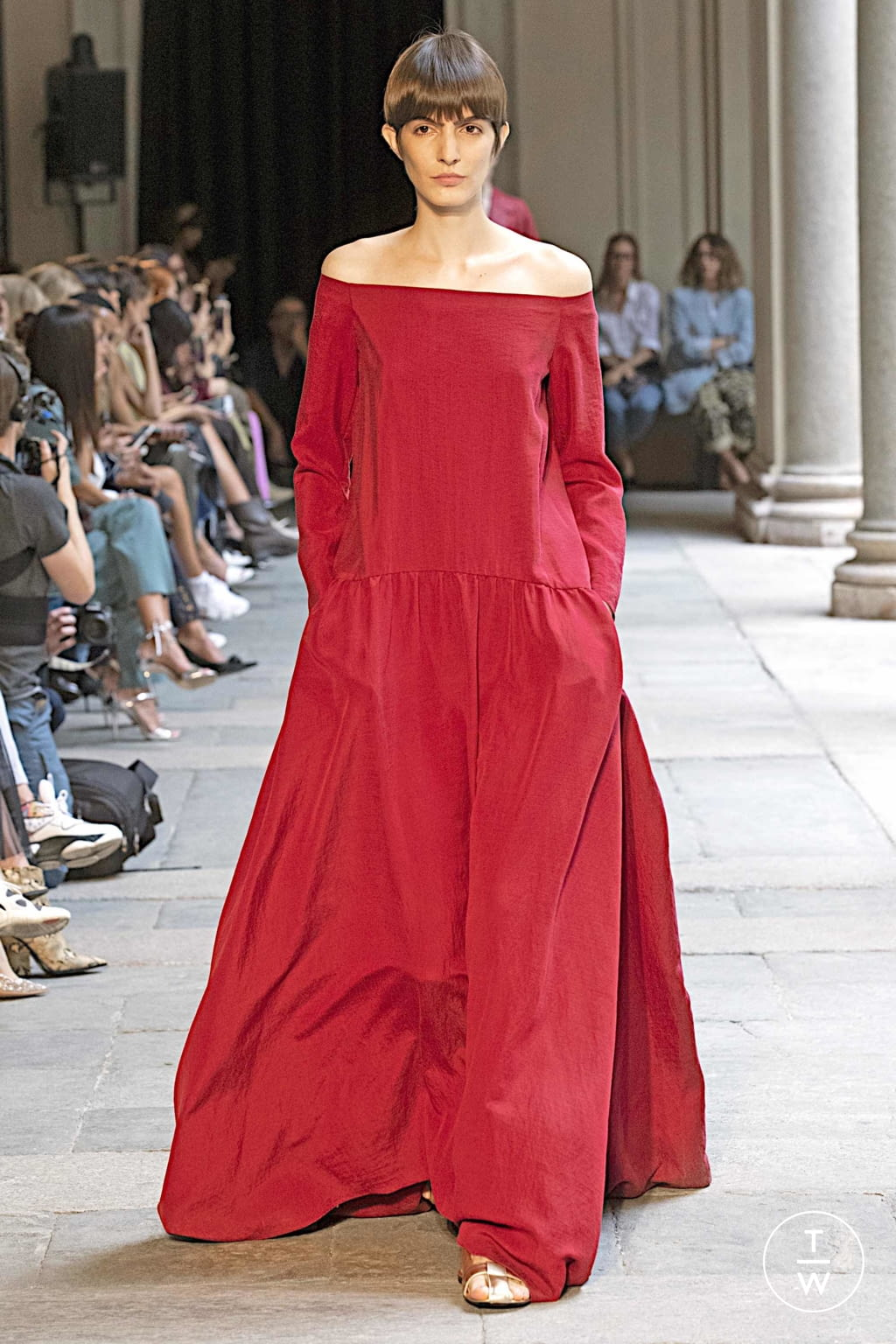 Fashion Week Milan Spring/Summer 2020 look 31 from the Calcaterra collection womenswear