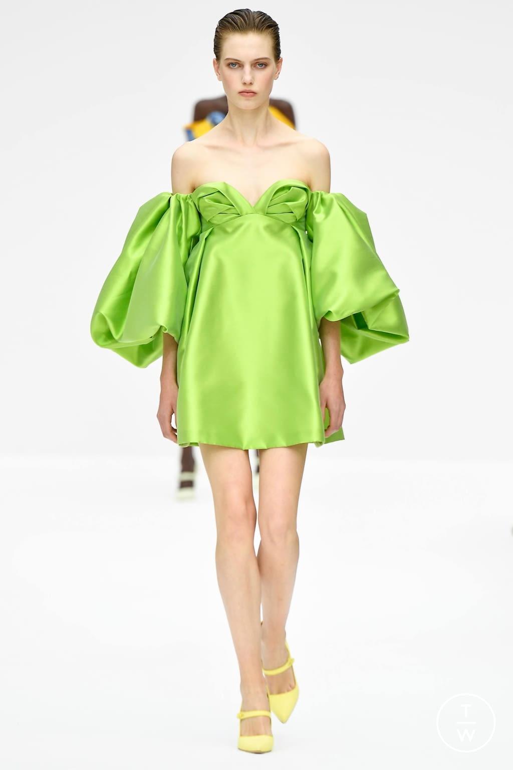 Fashion Week New York Spring/Summer 2020 look 40 from the Carolina Herrera collection womenswear