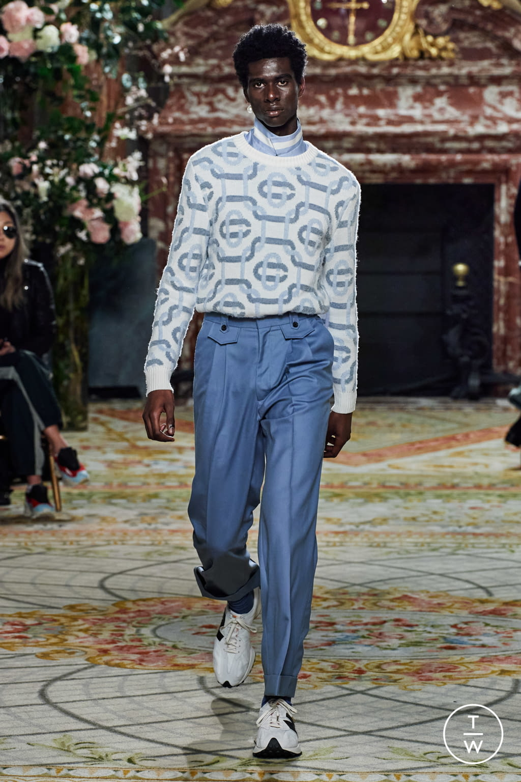 Fashion Week Paris Fall/Winter 2020 look 31 from the Casablanca collection menswear