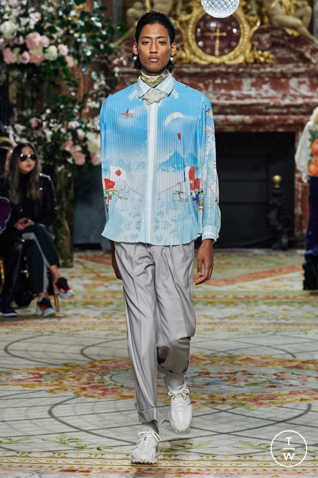 Fashion Week Paris Fall/Winter 2020 look 43 from the Casablanca collection menswear