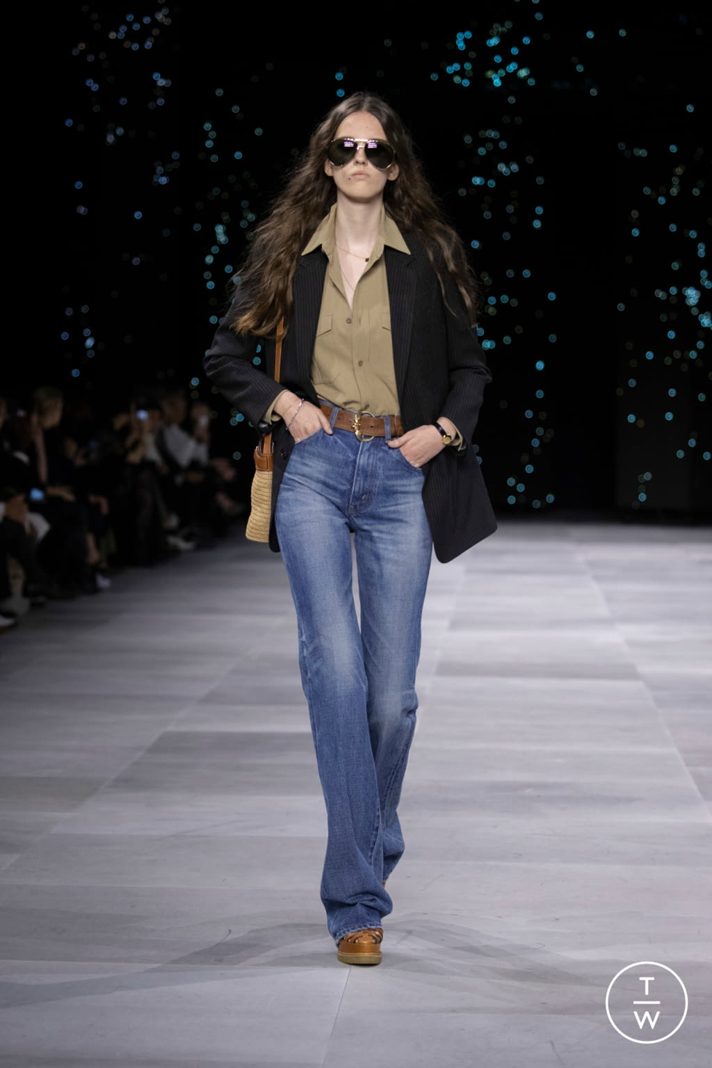 Fashion Week Paris Spring/Summer 2020 look 22 from the Celine collection womenswear
