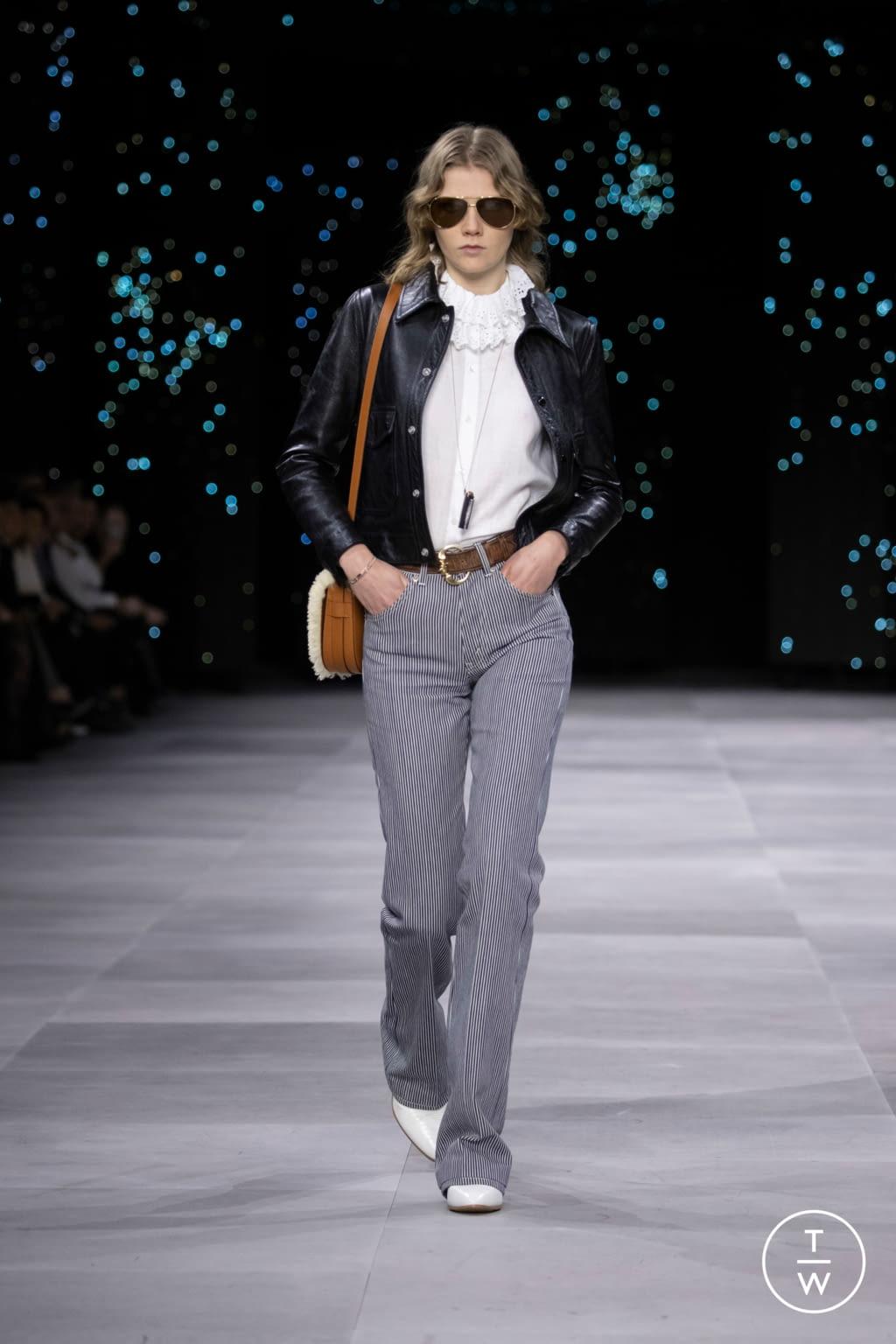 Fashion Week Paris Spring/Summer 2020 look 41 de la collection Celine womenswear