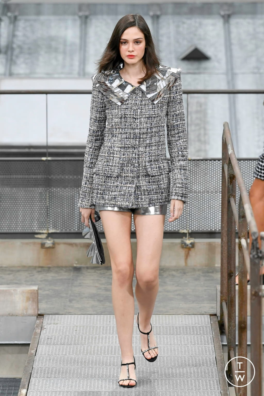 Fashion Week Paris Spring/Summer 2020 look 42 from the Chanel collection womenswear