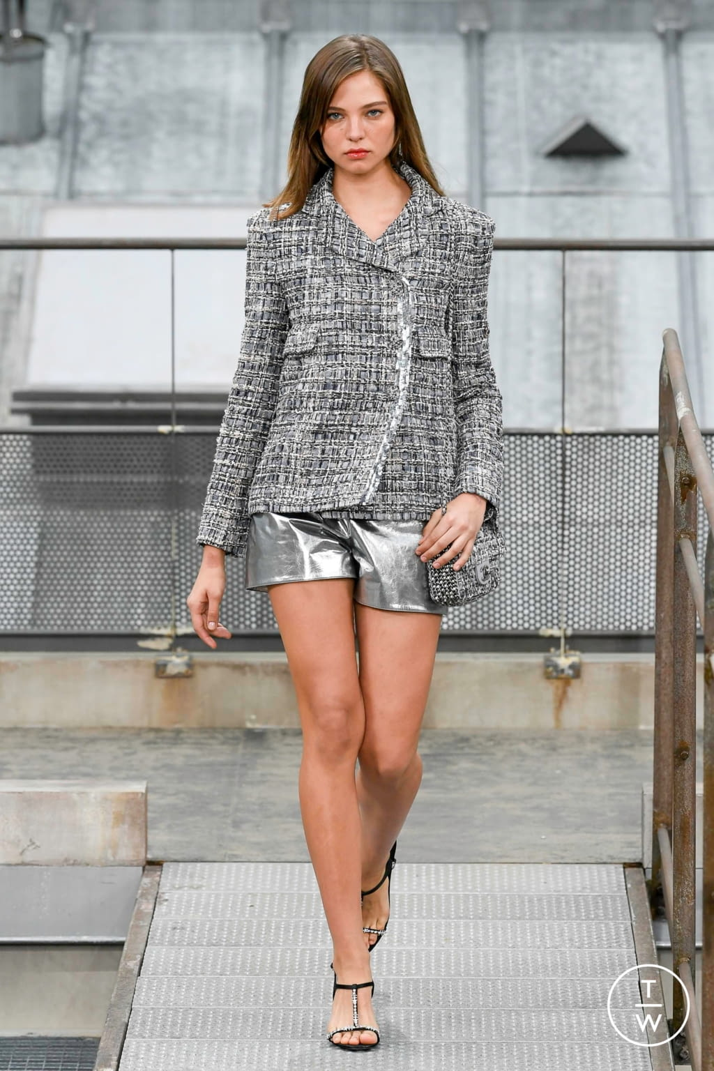 Fashion Week Paris Spring/Summer 2020 look 43 from the Chanel collection 女装