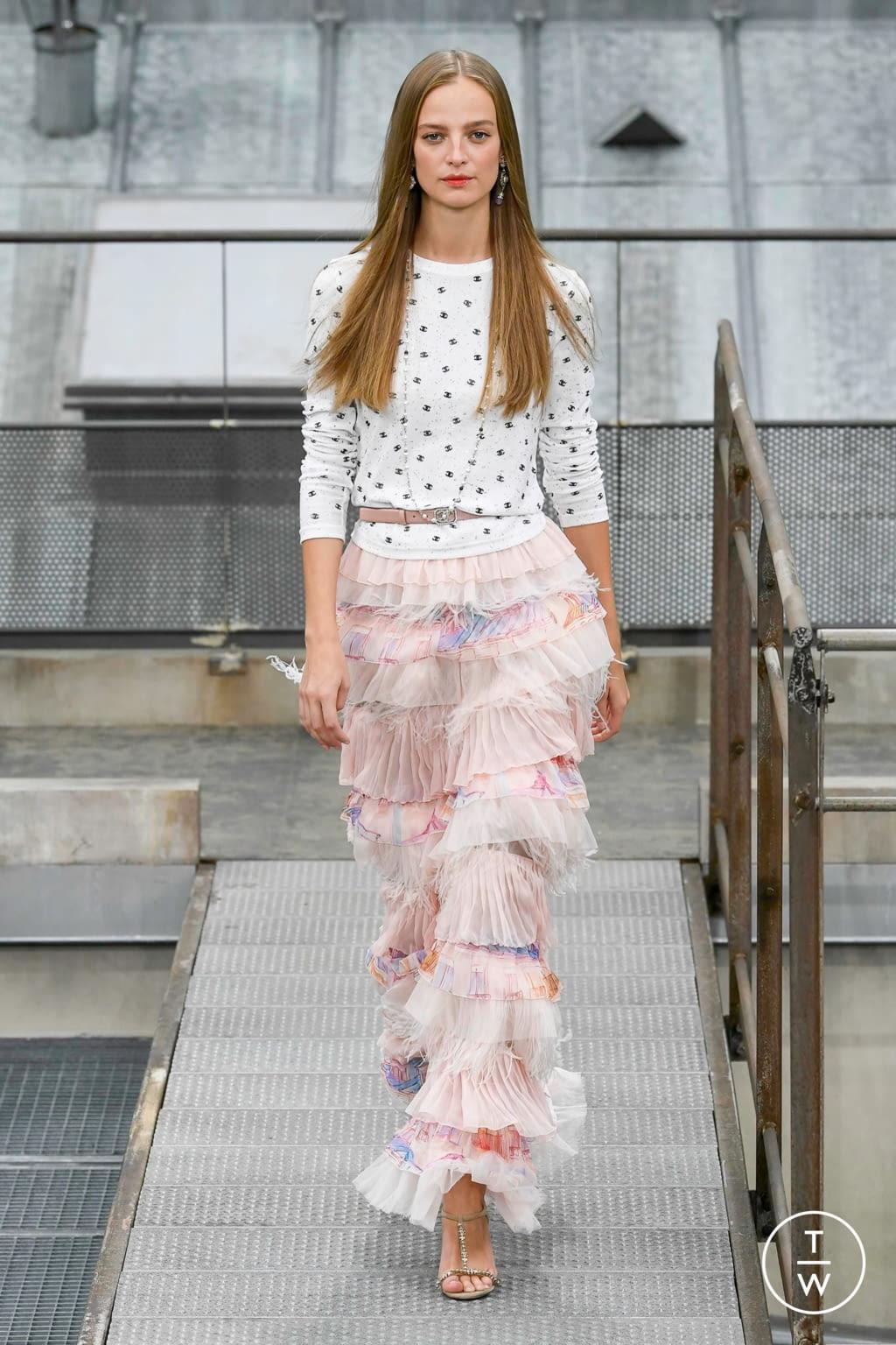 Fashion Week Paris Spring/Summer 2020 look 51 de la collection Chanel womenswear