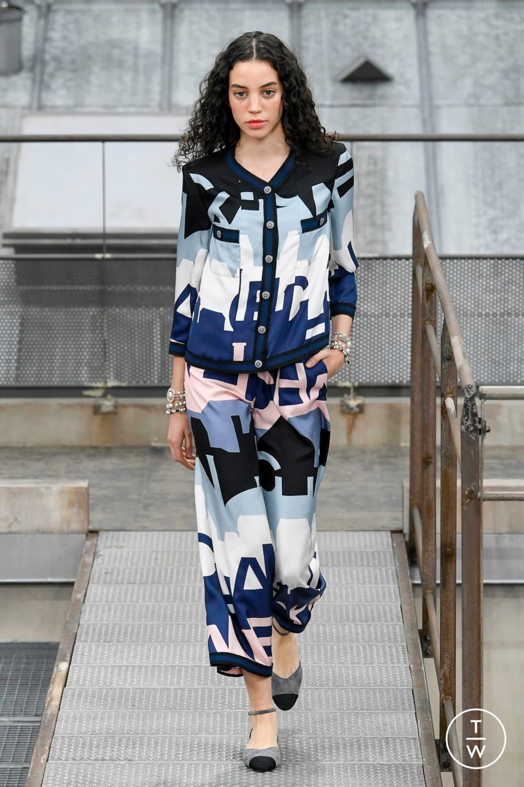 Fashion Week Paris Spring/Summer 2020 look 59 de la collection Chanel womenswear