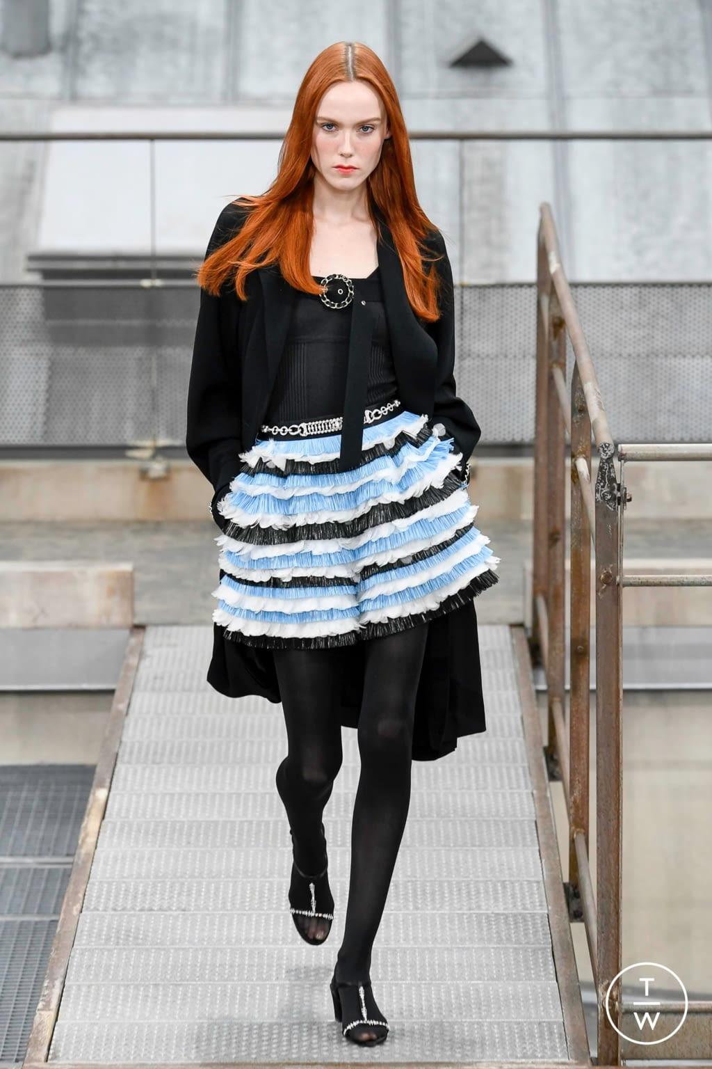 Fashion Week Paris Spring/Summer 2020 look 61 from the Chanel collection womenswear