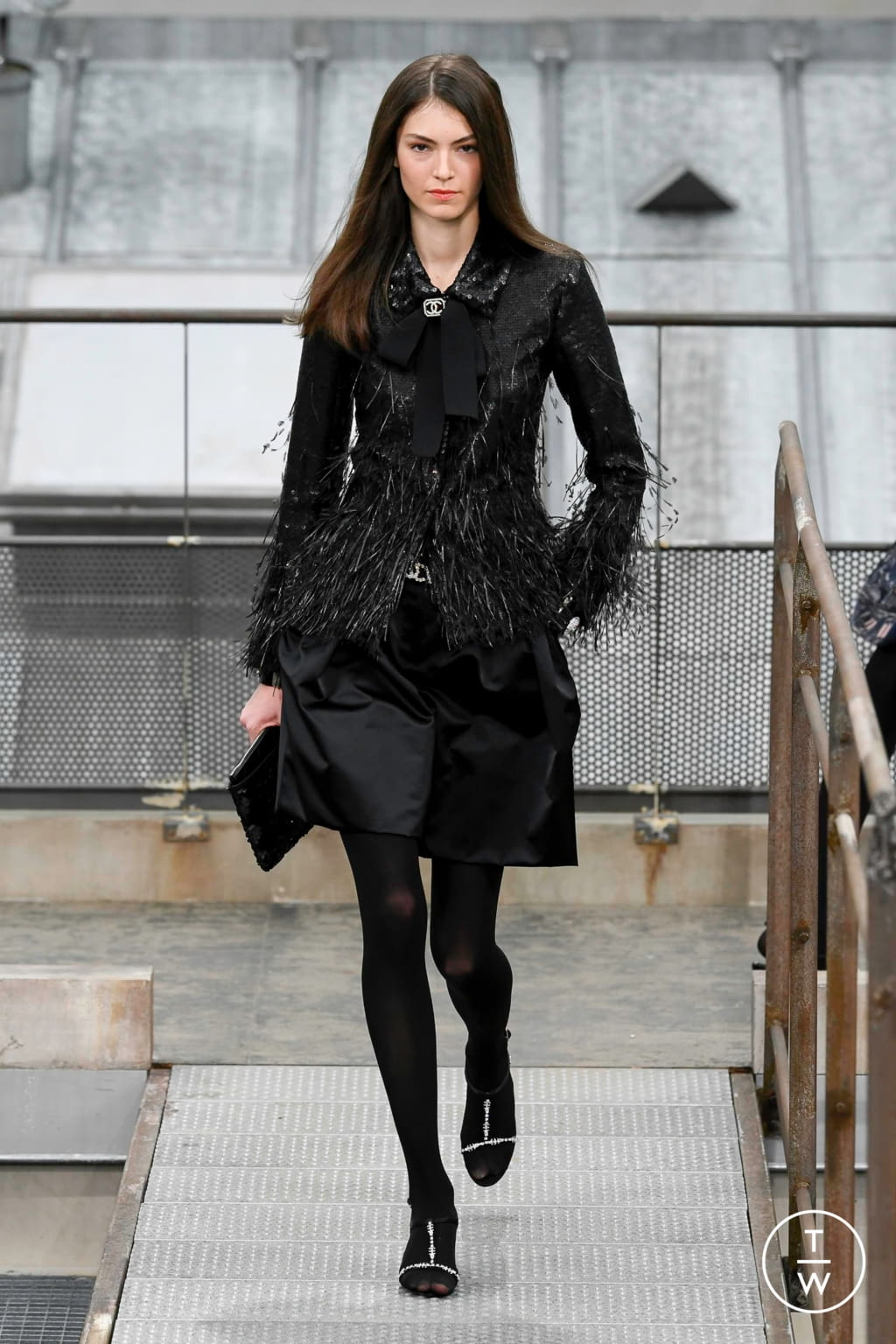 Fashion Week Paris Spring/Summer 2020 look 66 from the Chanel collection womenswear
