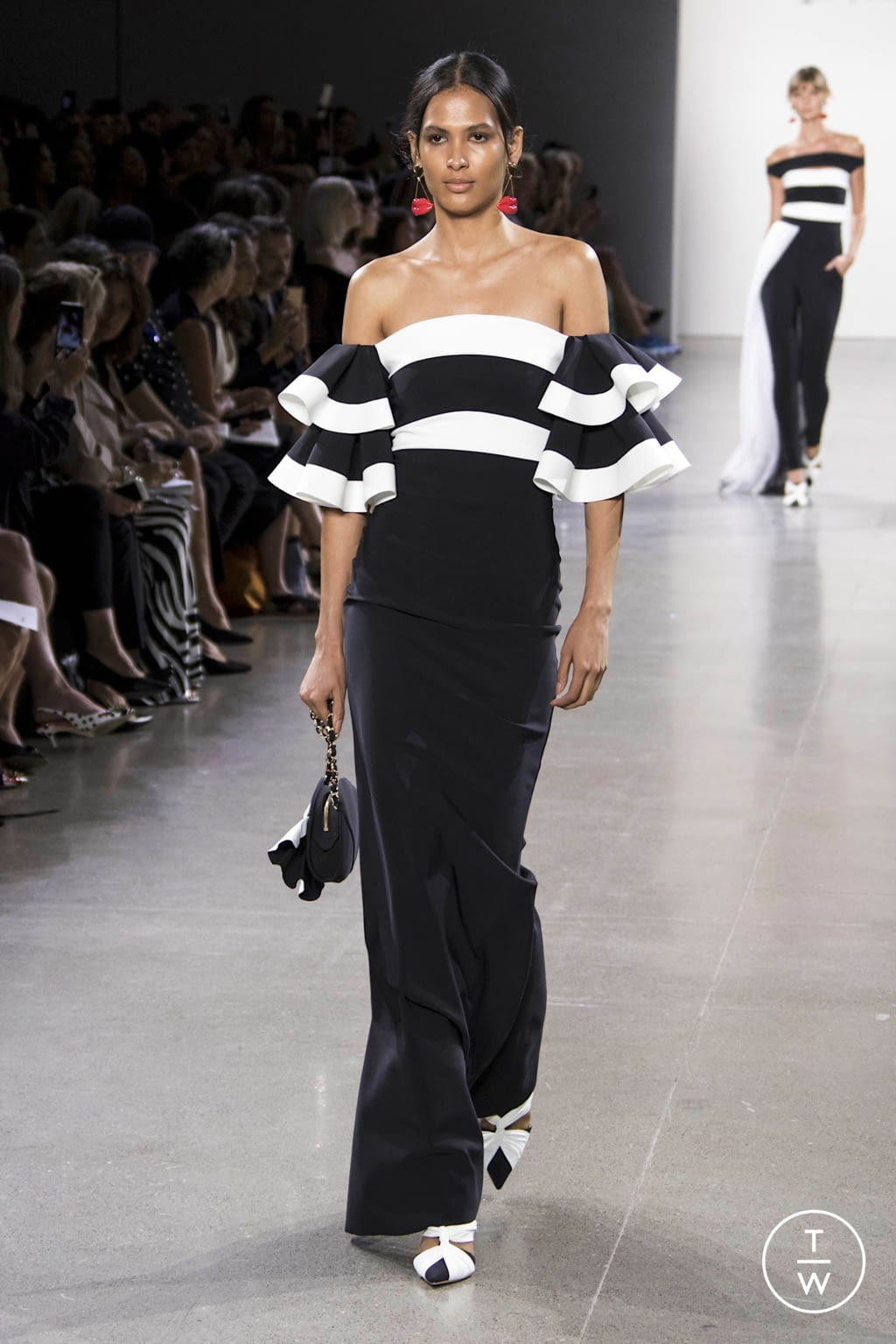 Fashion Week New York Spring/Summer 2020 look 16 from the Chiara Boni collection womenswear