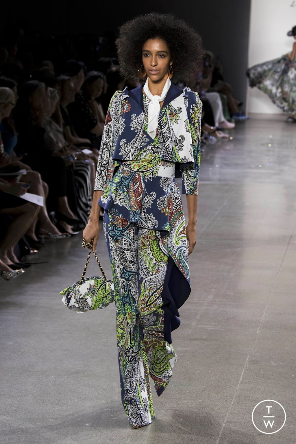 Fashion Week New York Spring/Summer 2020 look 30 from the Chiara Boni collection womenswear