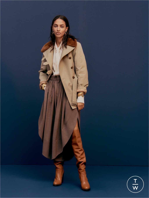 Ex Per Una WOMEN/'S colore Marrone Suedette taglio lungo Trench Duster Coat