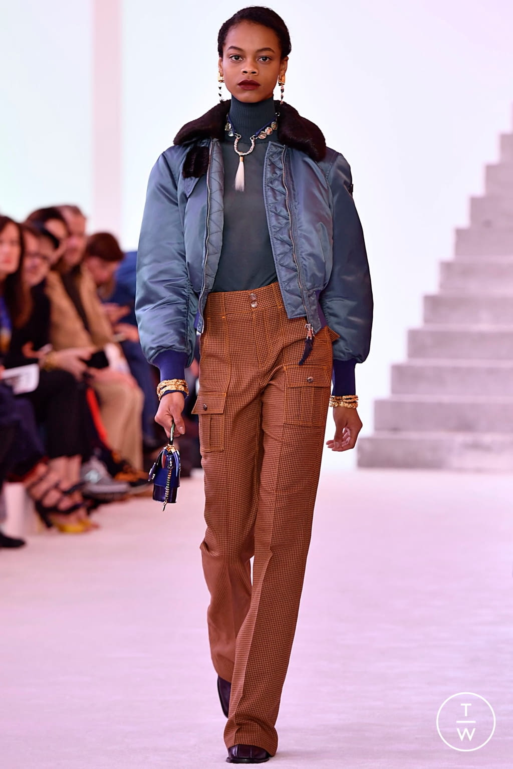 Fashion Week Paris Fall/Winter 2019 look 28 from the Chloé collection womenswear