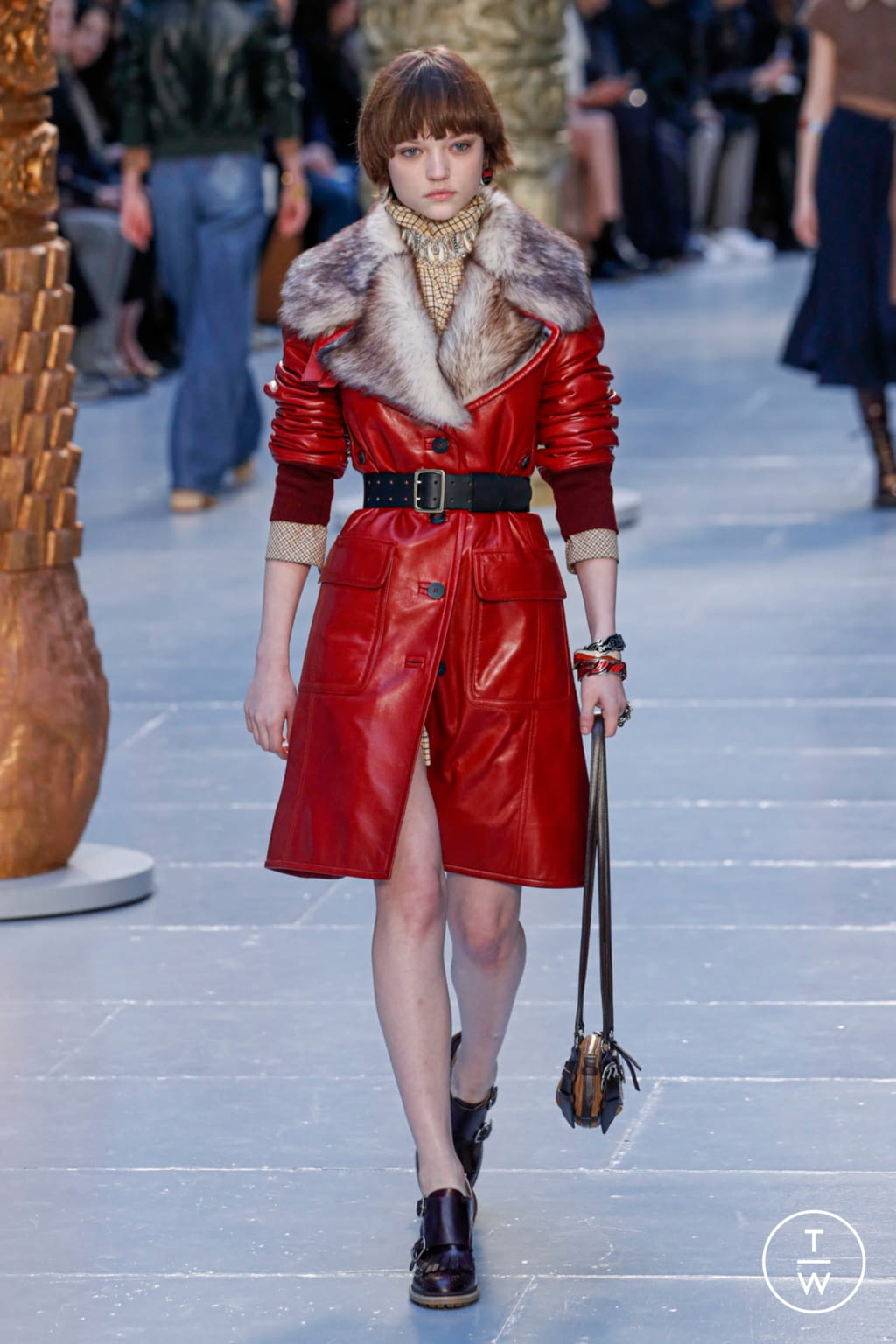 Fashion Week Paris Fall/Winter 2020 look 7 de la collection Chloé womenswear