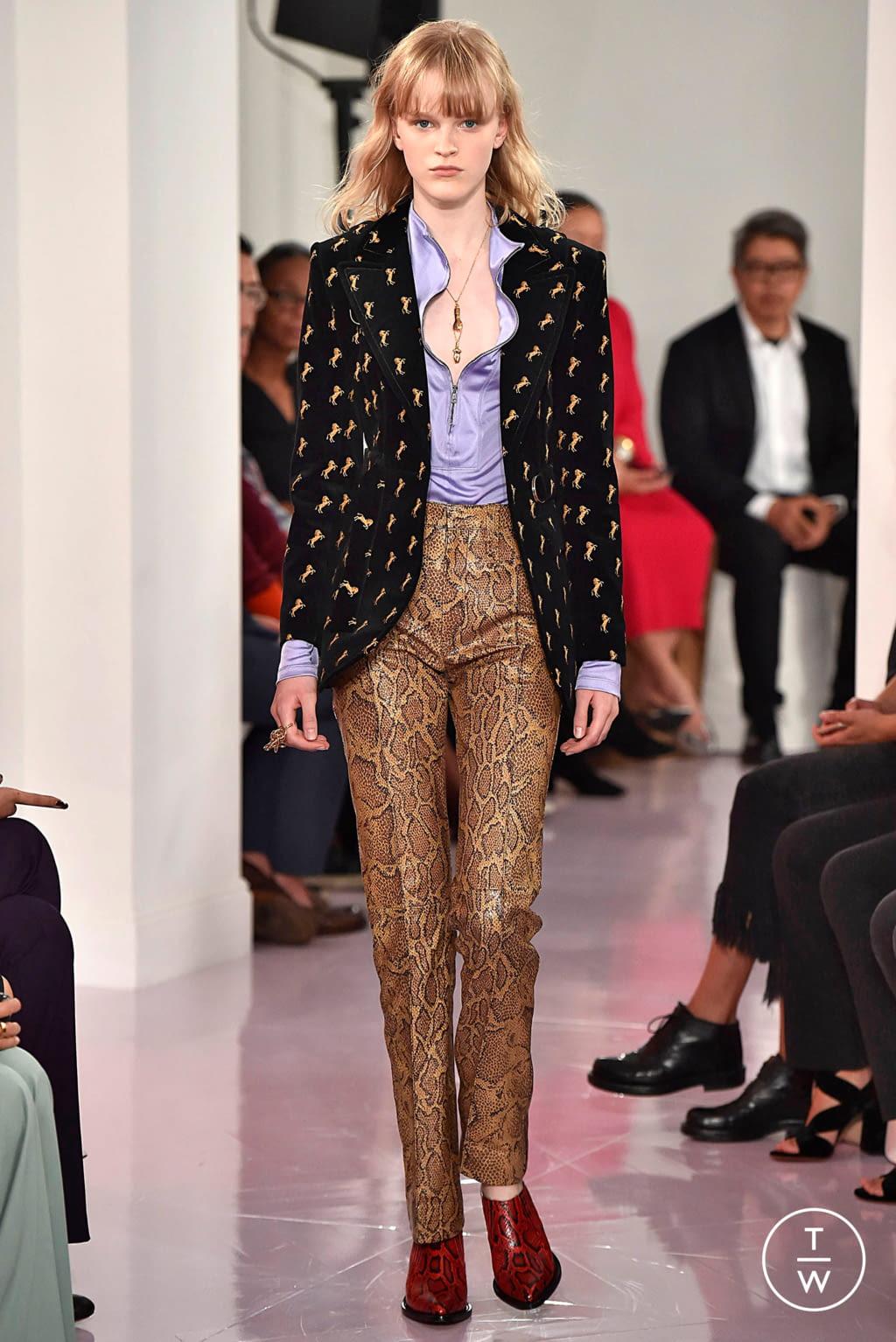 Fashion Week Paris Spring/Summer 2018 look 27 de la collection Chloé womenswear