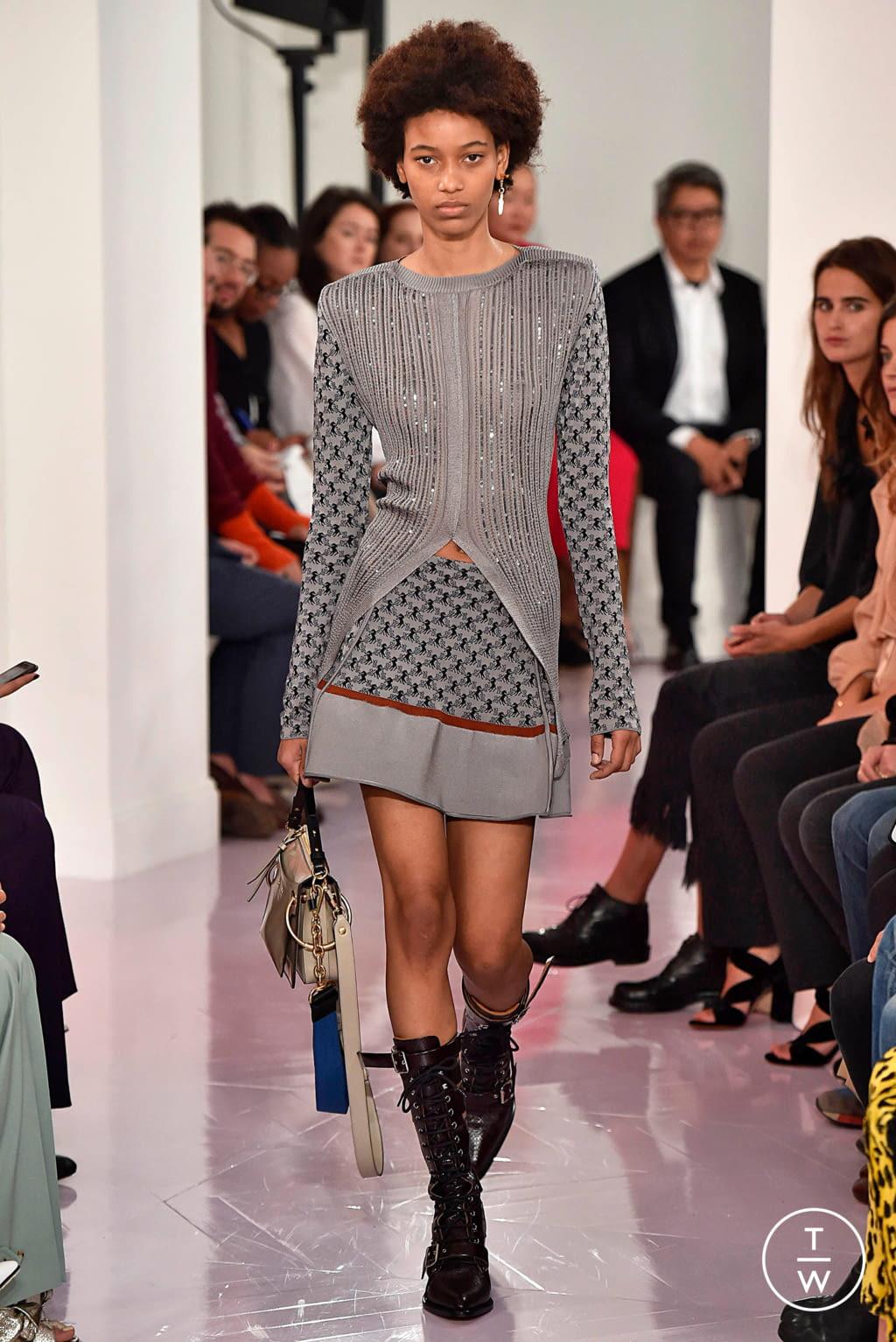 Fashion Week Paris Spring/Summer 2018 look 28 de la collection Chloé womenswear