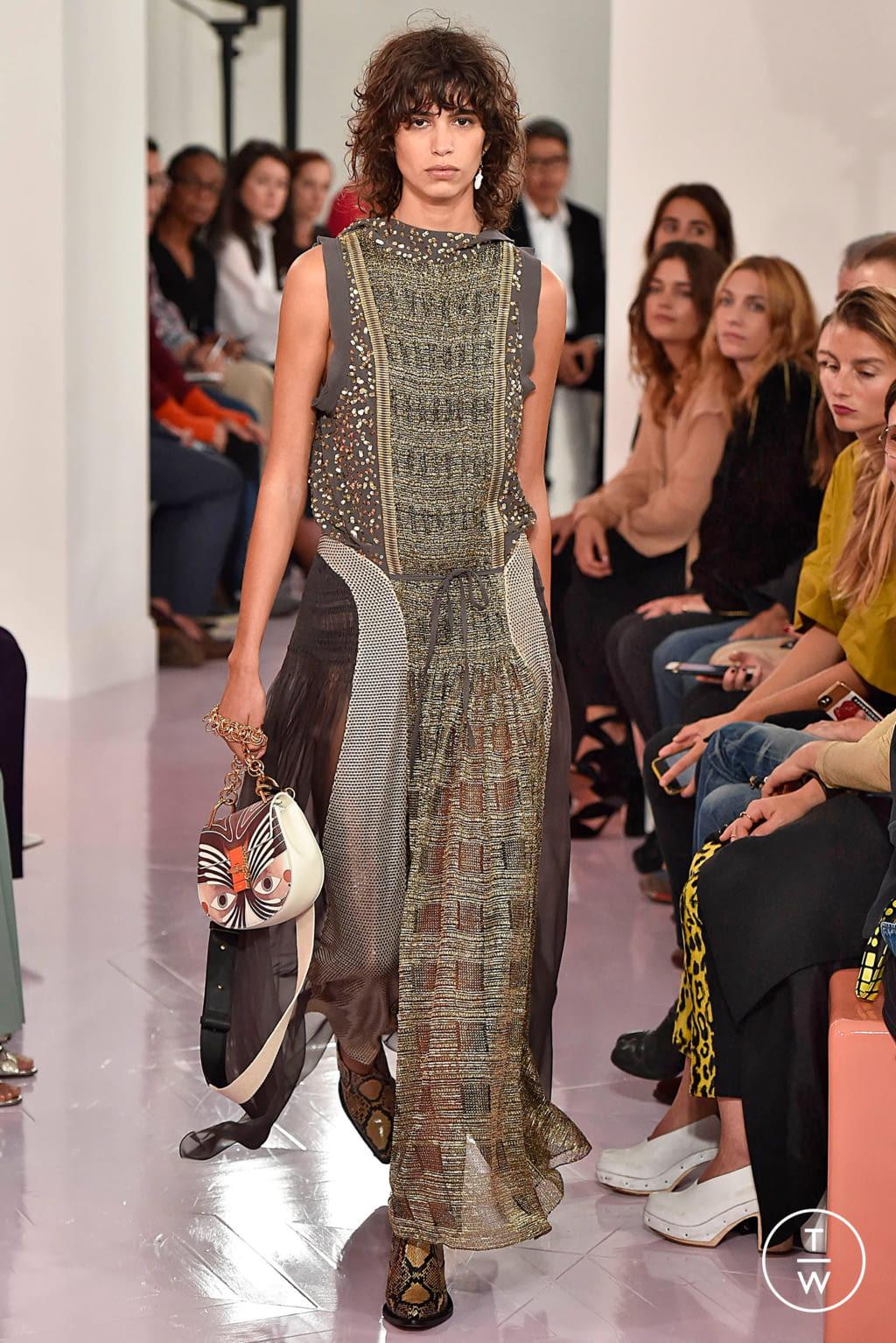 Fashion Week Paris Spring/Summer 2018 look 51 de la collection Chloé womenswear