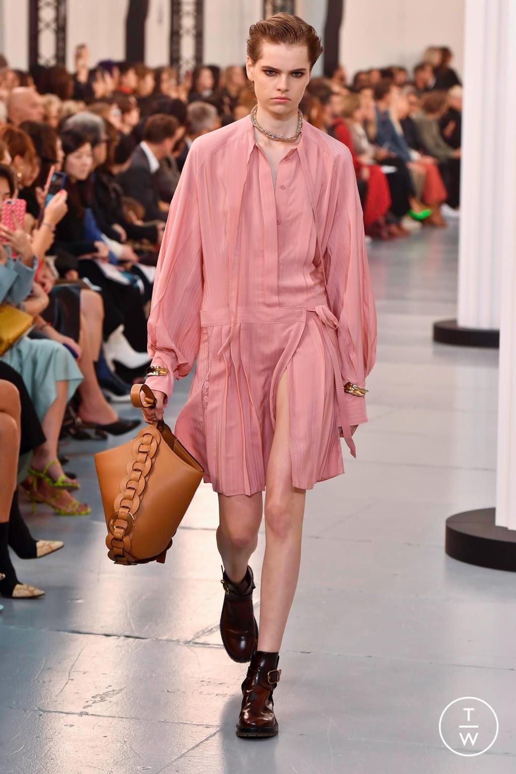 Fashion Week Paris Spring/Summer 2020 look 18 de la collection Chloé womenswear