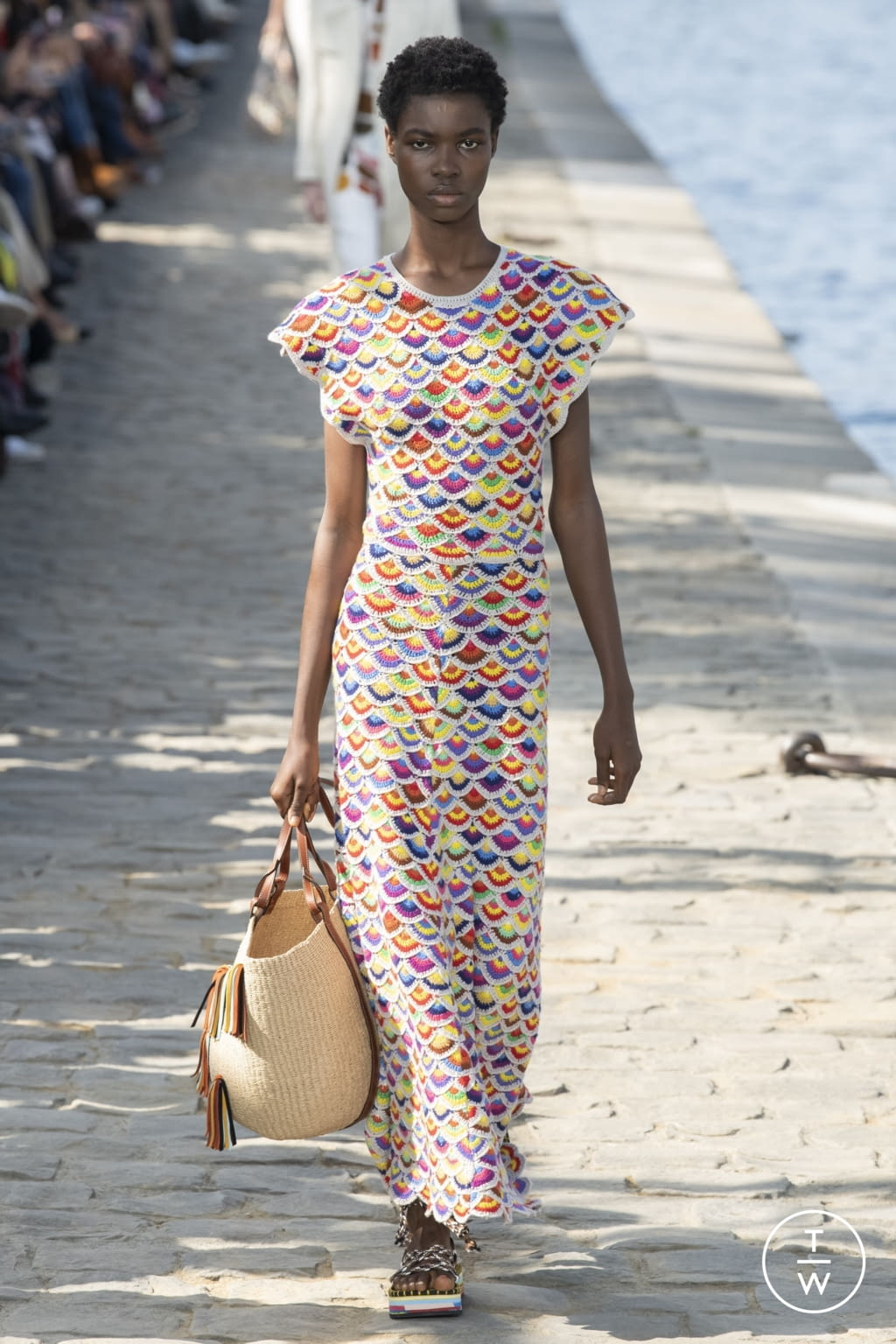 Fashion Week Paris Spring/Summer 2022 look 11 from the Chloé collection womenswear