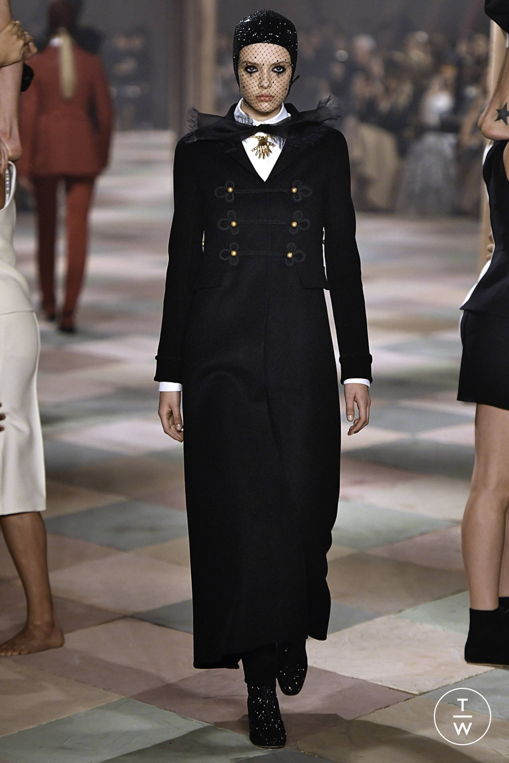 Fashion Week Paris Spring/Summer 2019 look 5 from the Christian Dior collection couture