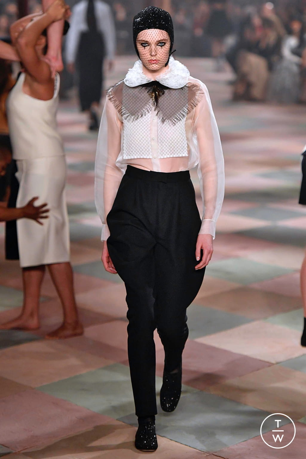 Fashion Week Paris Spring/Summer 2019 look 6 from the Christian Dior collection 高级定制