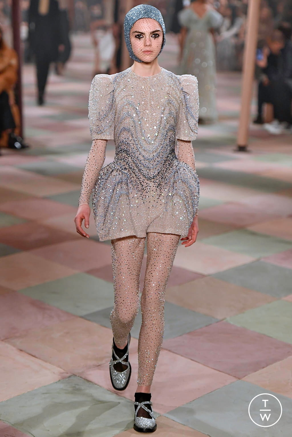 Fashion Week Paris Spring/Summer 2019 look 67 from the Christian Dior collection couture
