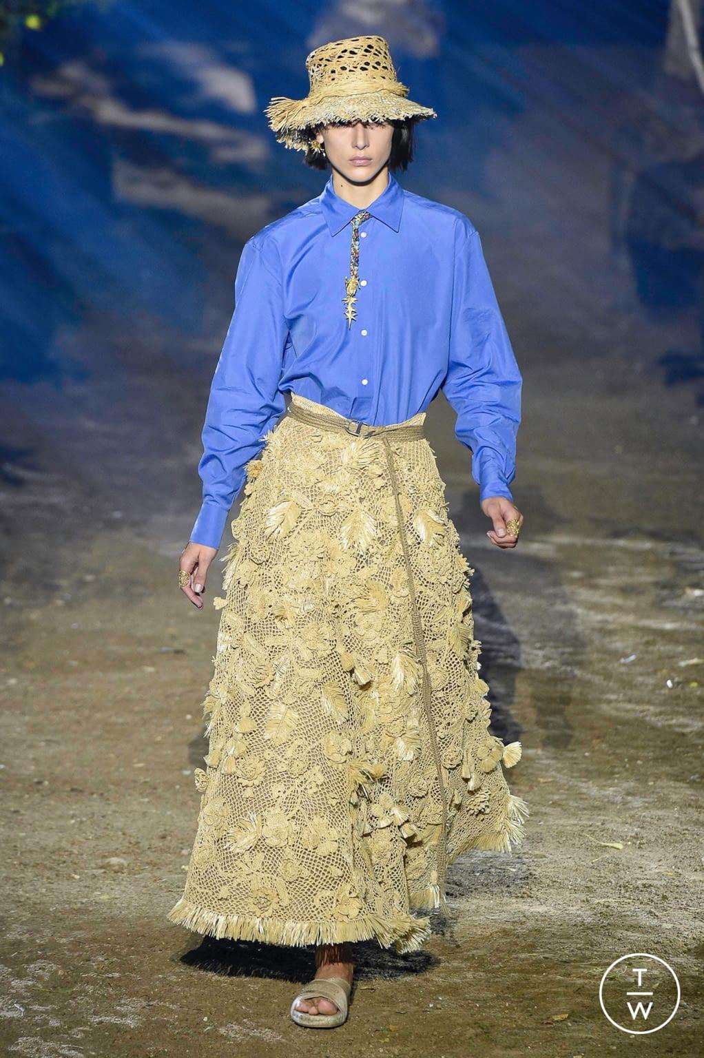 Fashion Week Paris Spring/Summer 2020 look 4 de la collection Christian Dior womenswear