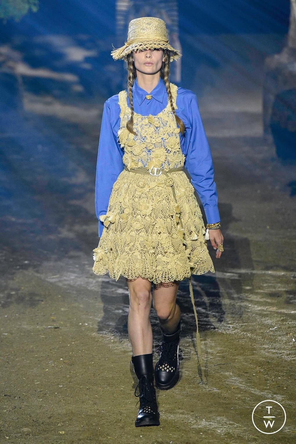 Fashion Week Paris Spring/Summer 2020 look 5 de la collection Christian Dior womenswear