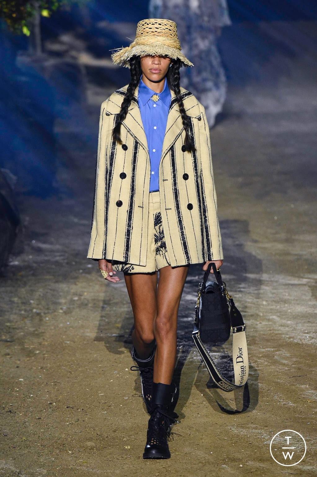 Fashion Week Paris Spring/Summer 2020 look 9 de la collection Christian Dior womenswear