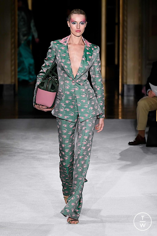 Fashion Week New York Spring/Summer 2020 look 14 de la collection Christian Siriano womenswear