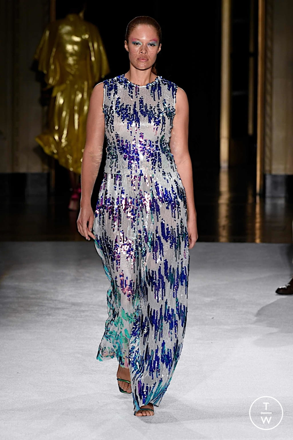 Fashion Week New York Spring/Summer 2020 look 34 de la collection Christian Siriano womenswear