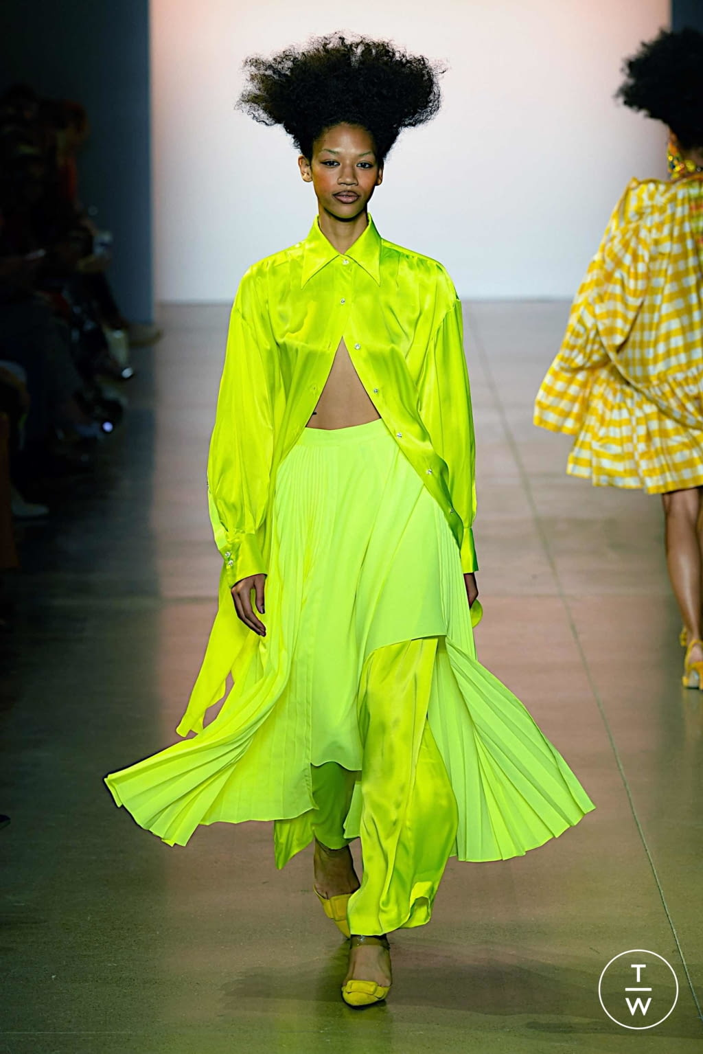 Fashion Week New York Spring/Summer 2020 look 28 from the Christopher John Rogers collection womenswear