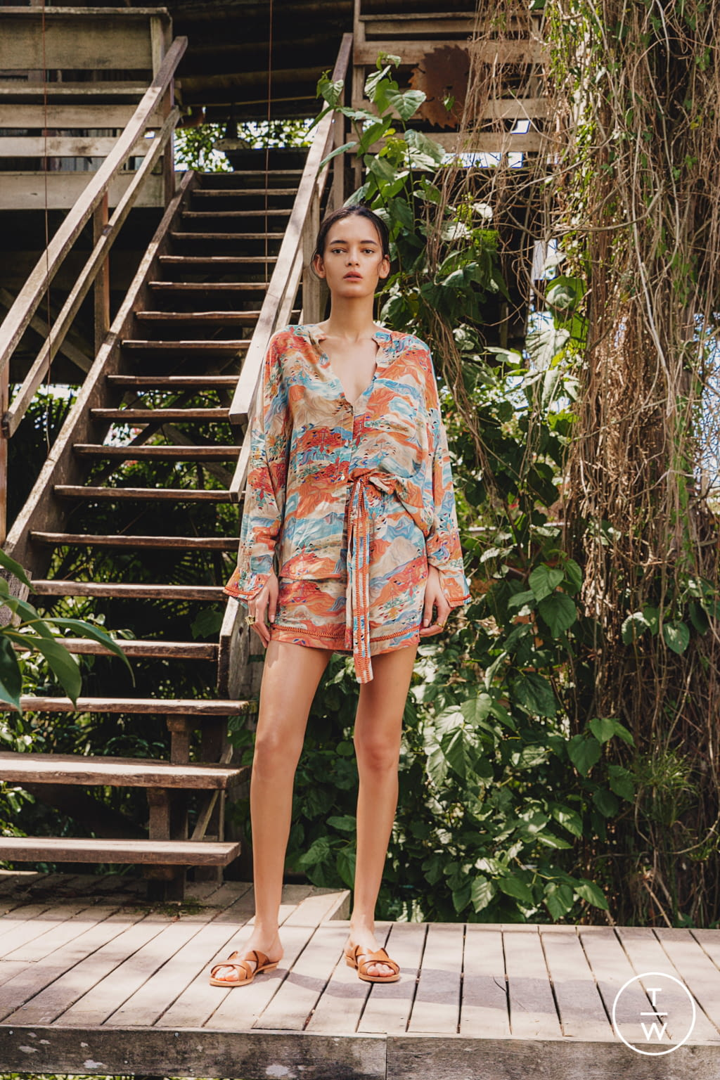 Fashion Week New York Pre-Fall 2020 look 14 from the Chufy collection womenswear