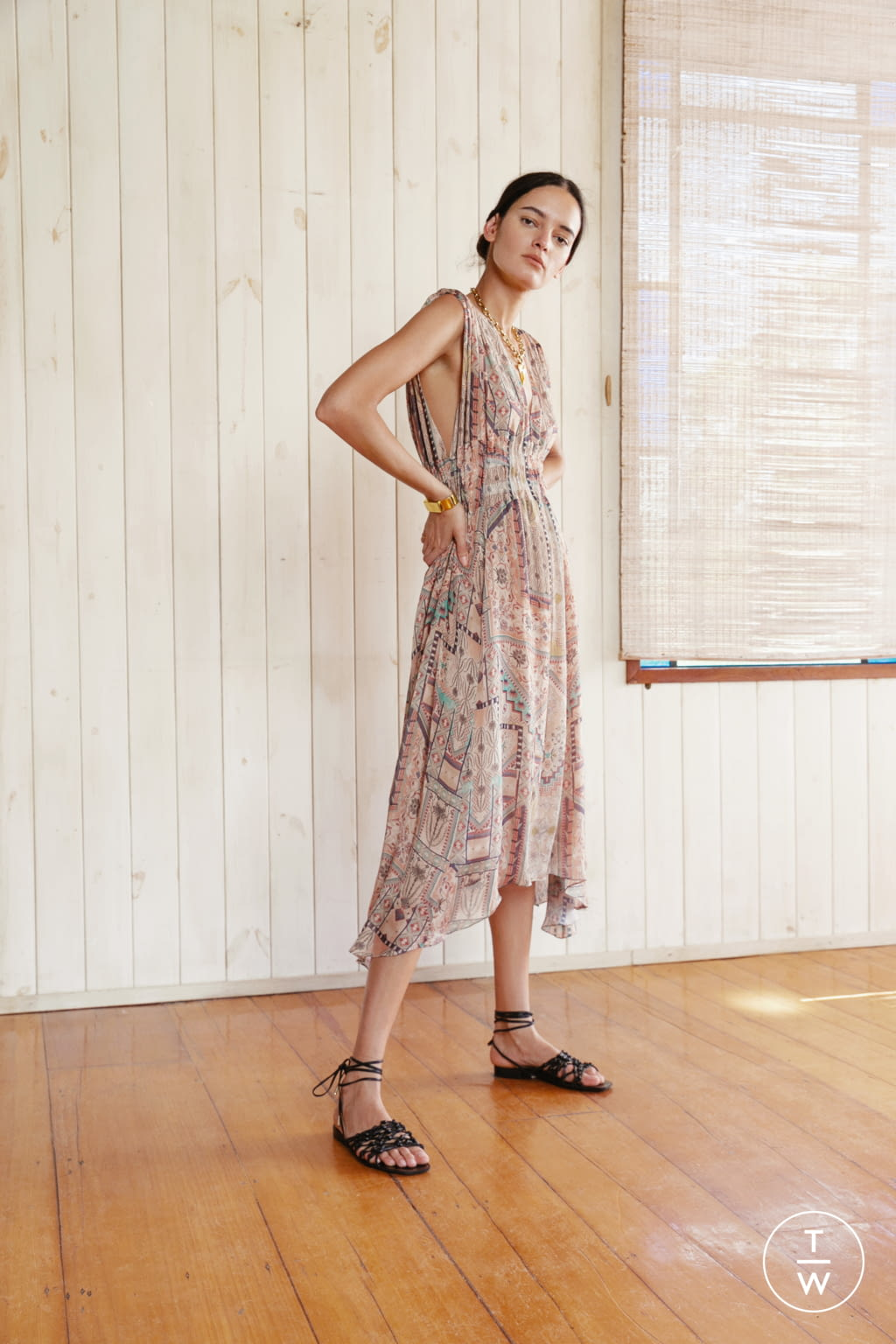 Fashion Week New York Pre-Fall 2020 look 20 from the Chufy collection womenswear