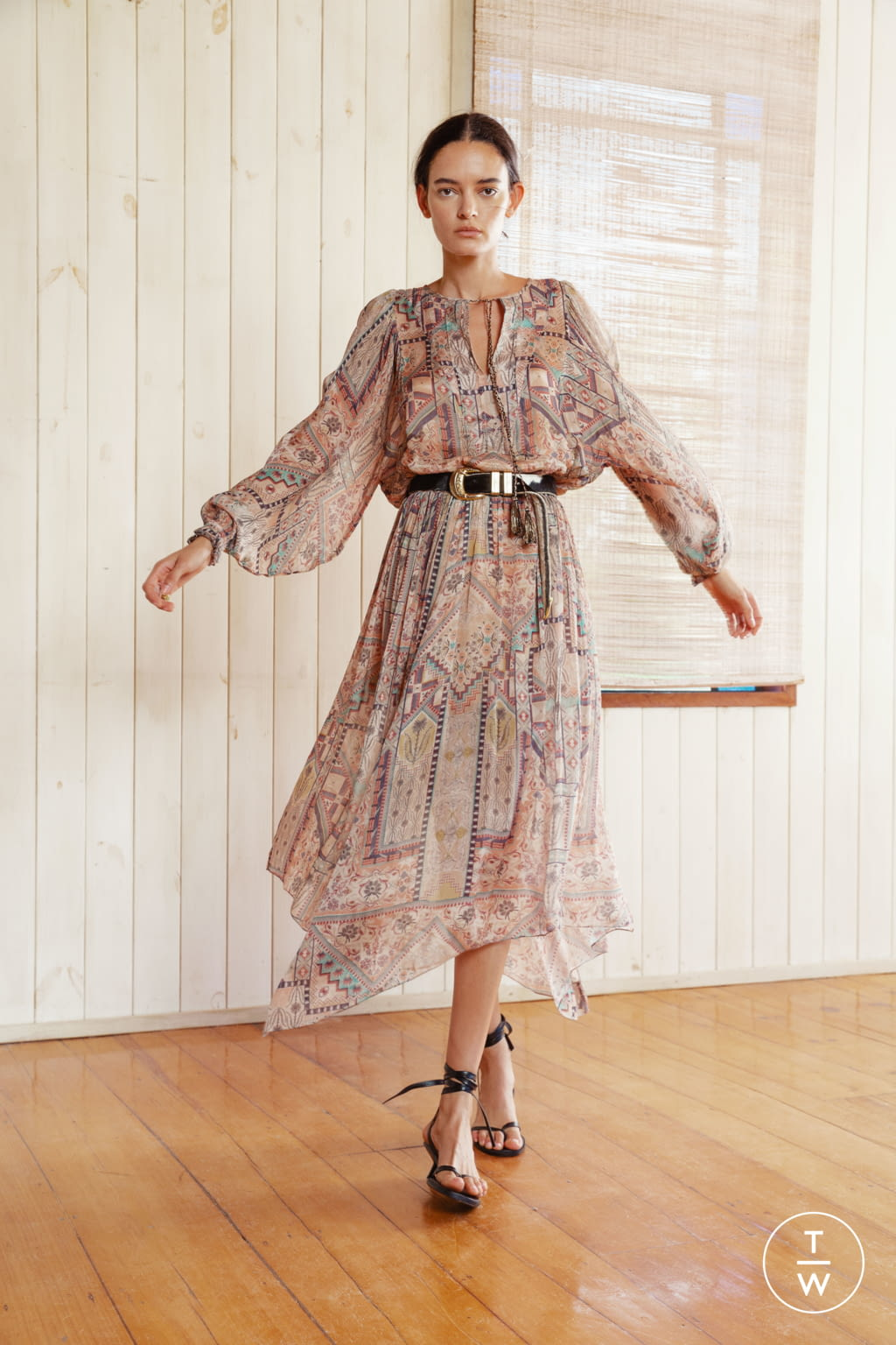 Fashion Week New York Pre-Fall 2020 look 22 from the Chufy collection womenswear