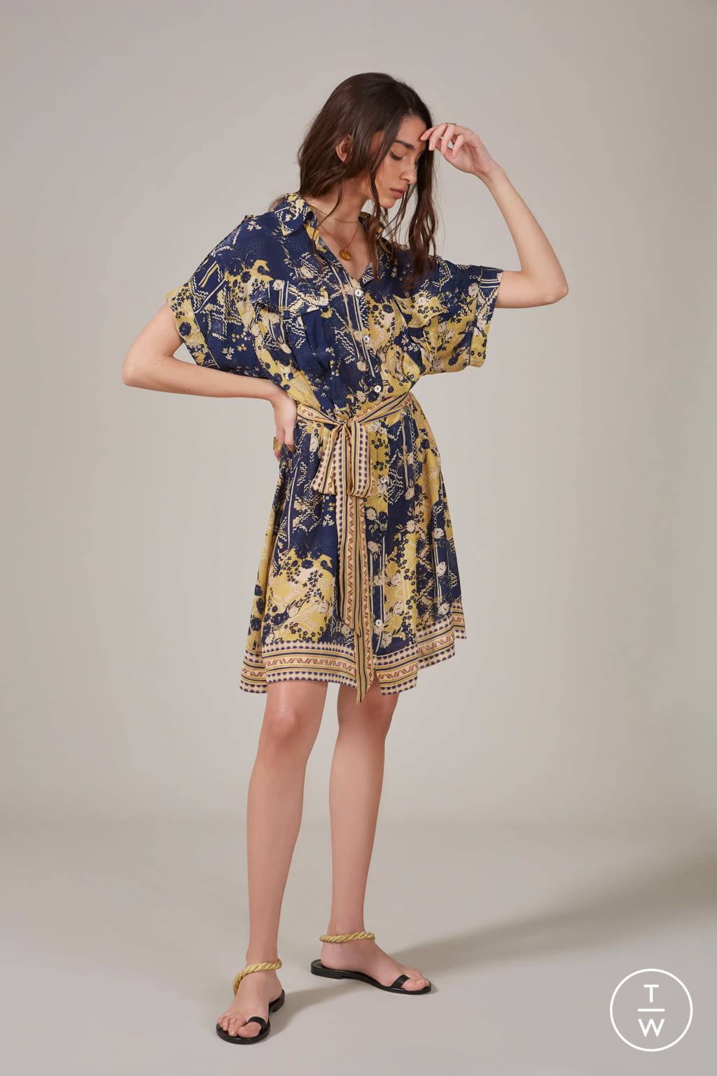 Fashion Week New York Spring/Summer 2020 look 14 from the Chufy collection womenswear