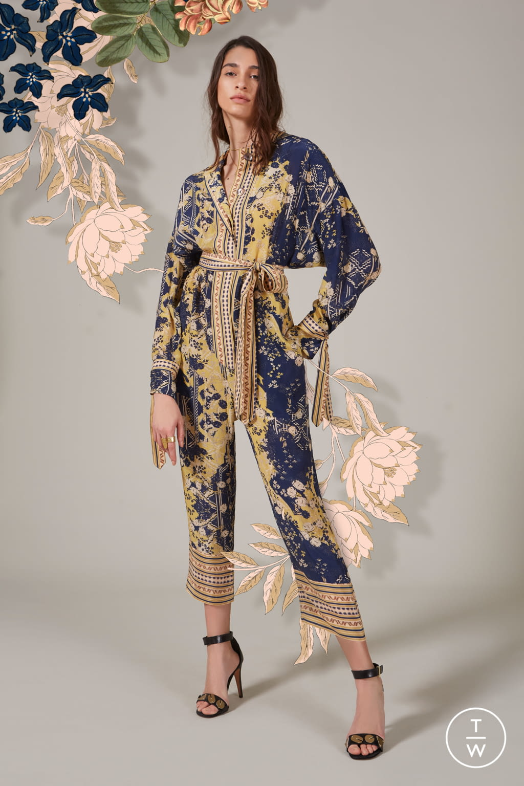 Fashion Week New York Spring/Summer 2020 look 15 from the Chufy collection womenswear