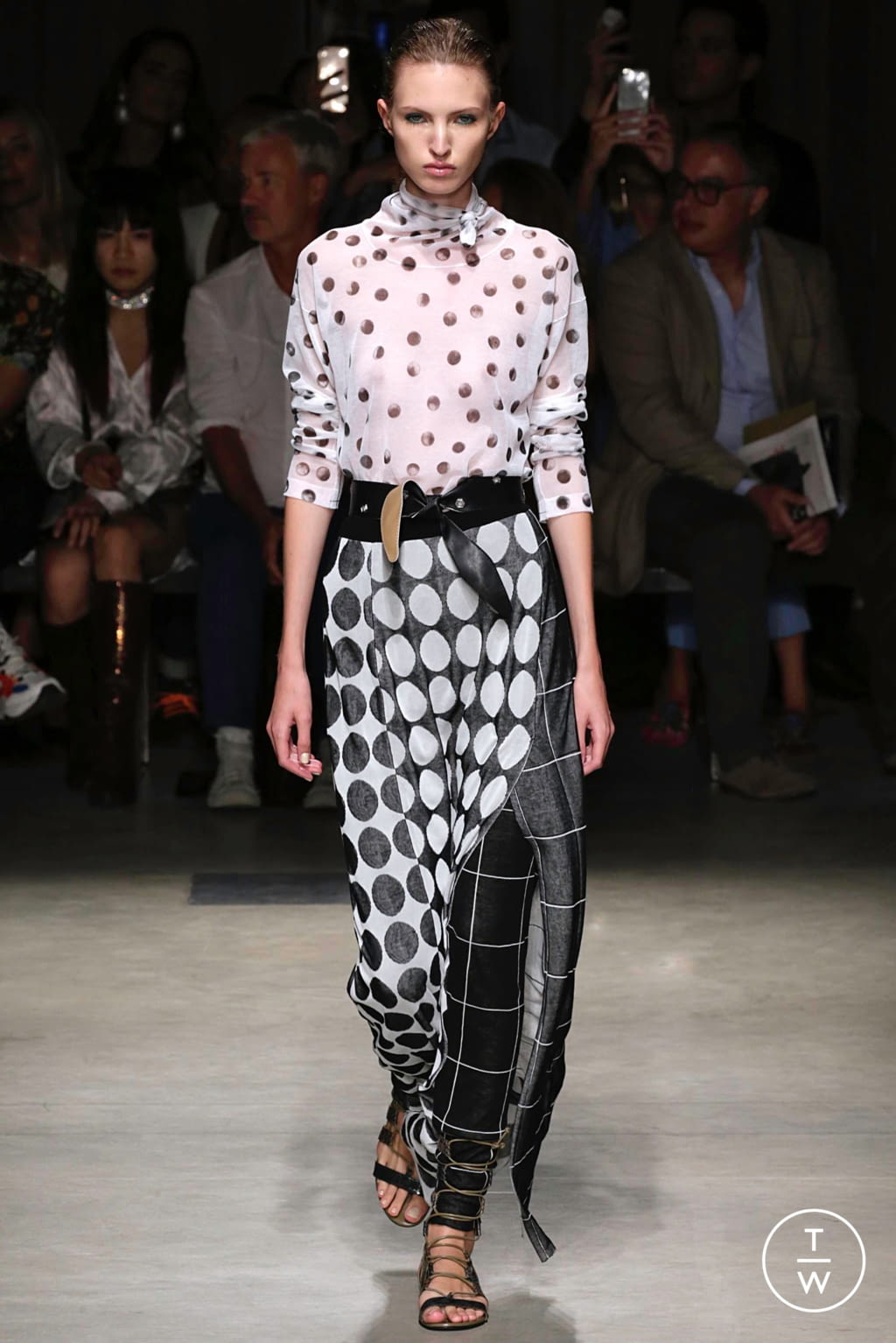 Fashion Week Milan Spring/Summer 2019 look 8 from the Cividini collection womenswear