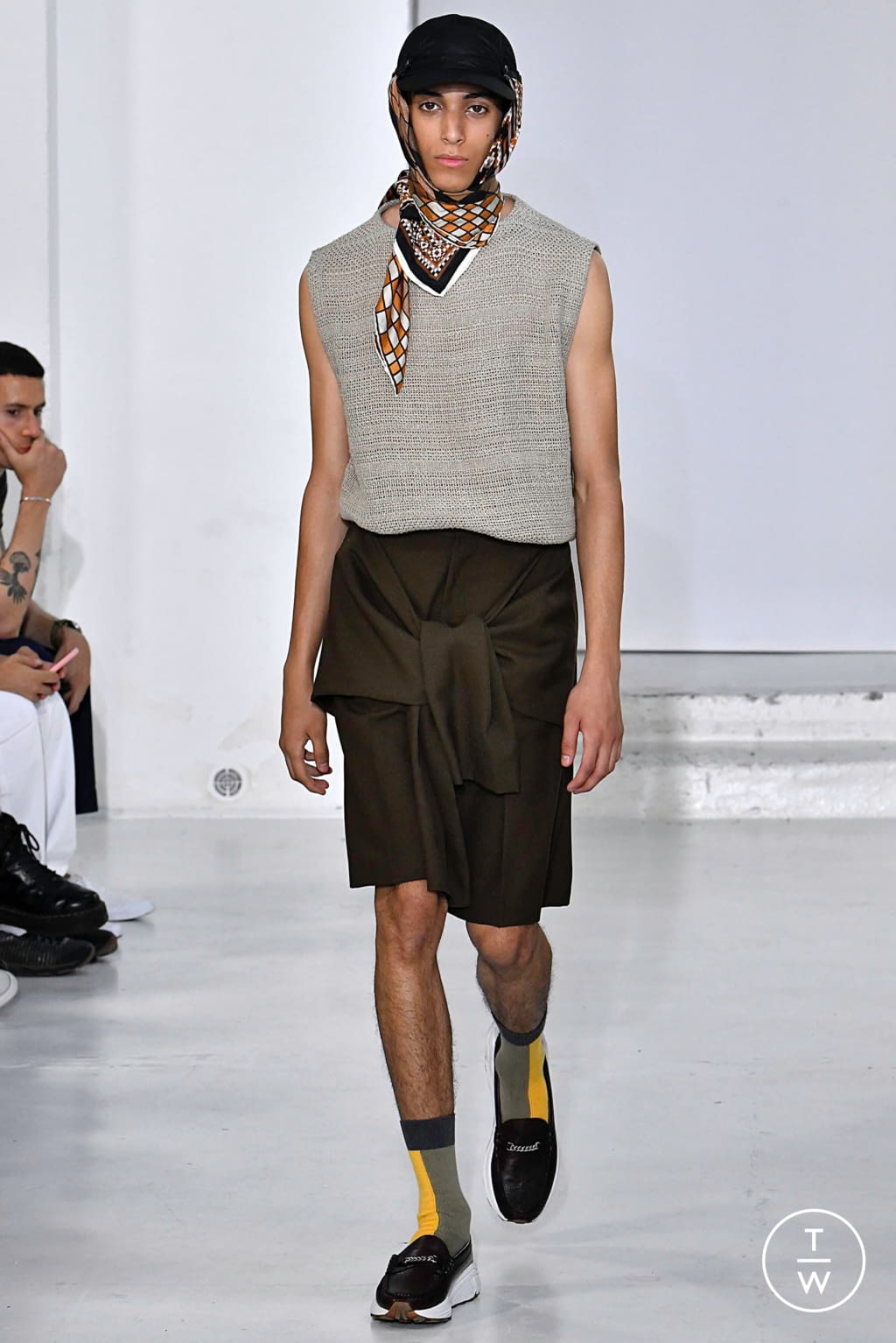 Fashion Week Paris Spring/Summer 2020 look 20 from the CMMN SWDN collection menswear