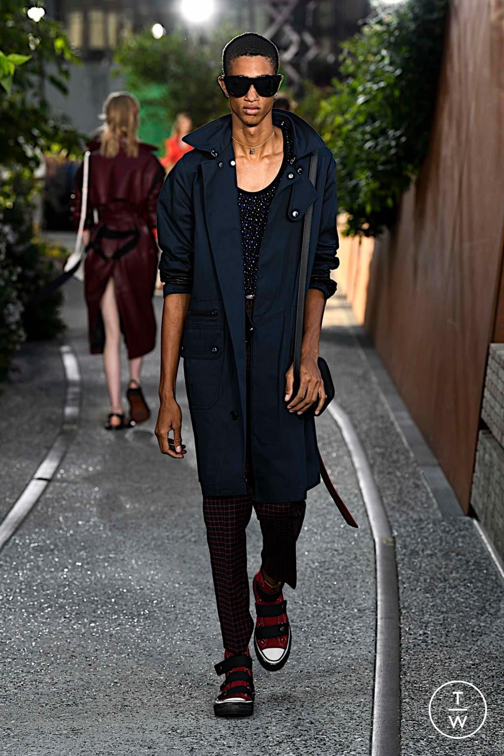 Fashion Week New York Spring/Summer 2020 look 15 de la collection Coach 1941 womenswear