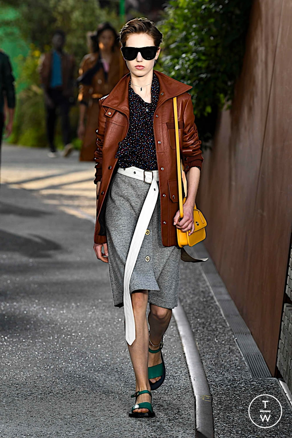 Fashion Week New York Spring/Summer 2020 look 25 de la collection Coach 1941 womenswear
