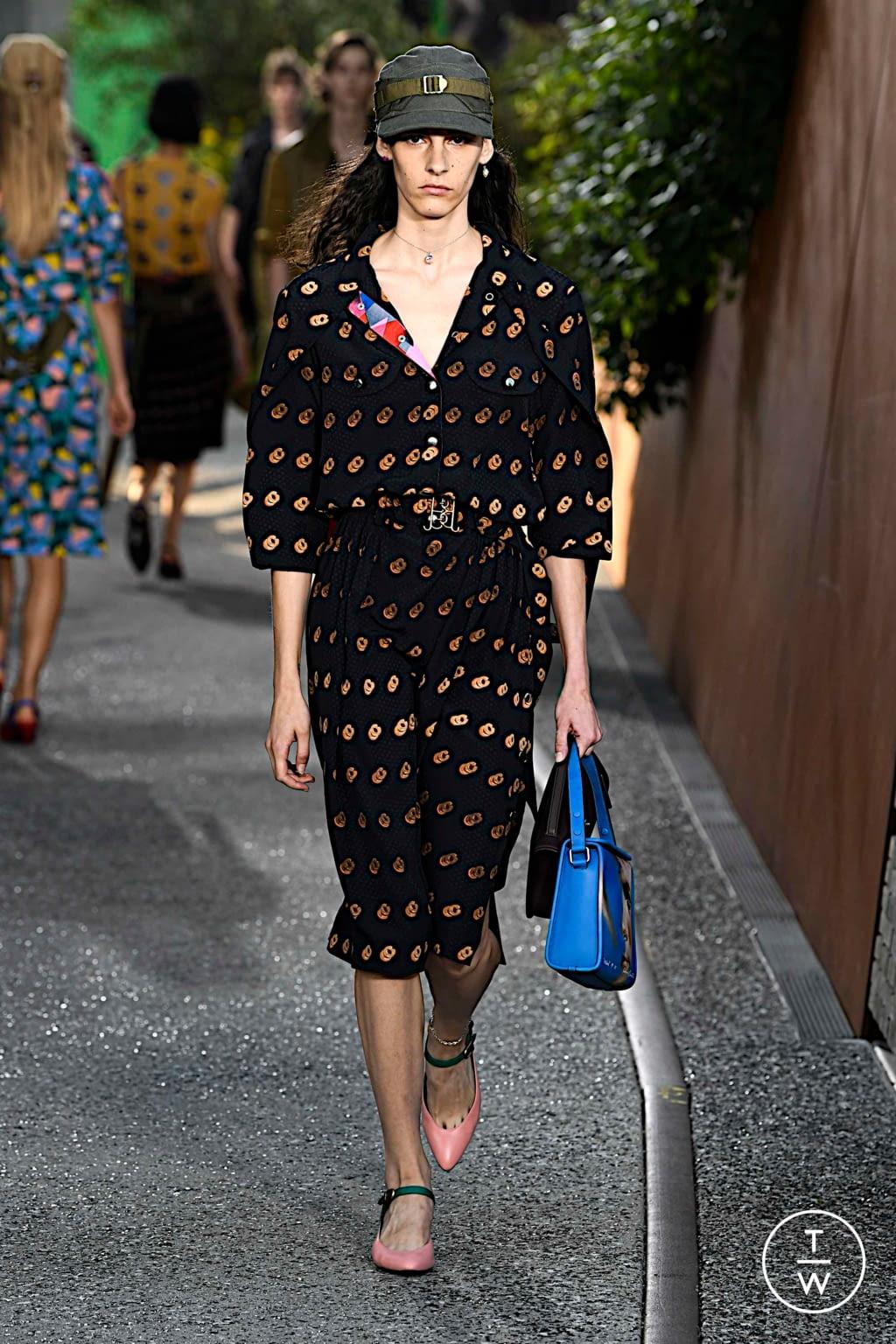 Fashion Week New York Spring/Summer 2020 look 38 de la collection Coach 1941 womenswear