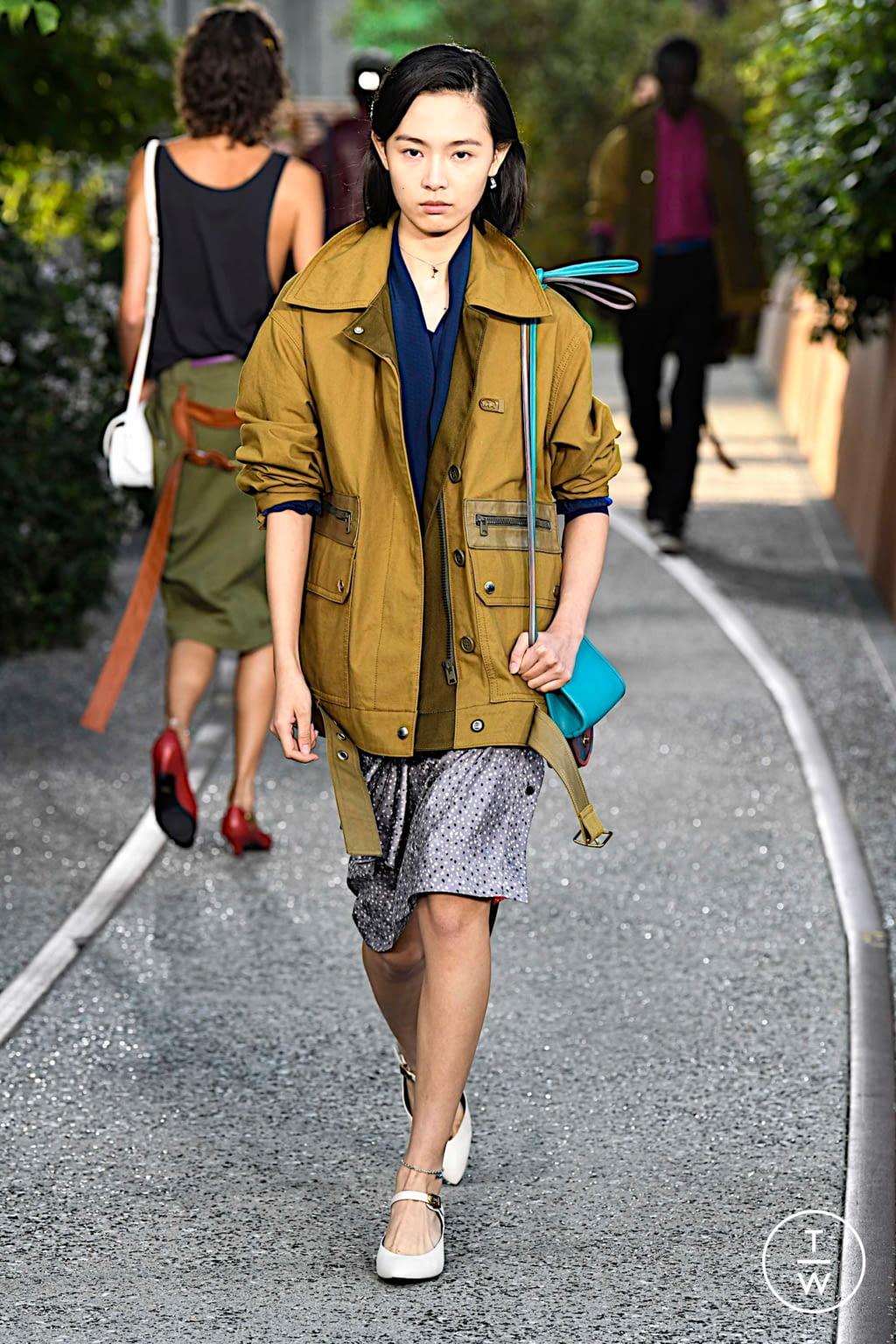 Fashion Week New York Spring/Summer 2020 look 41 de la collection Coach 1941 womenswear