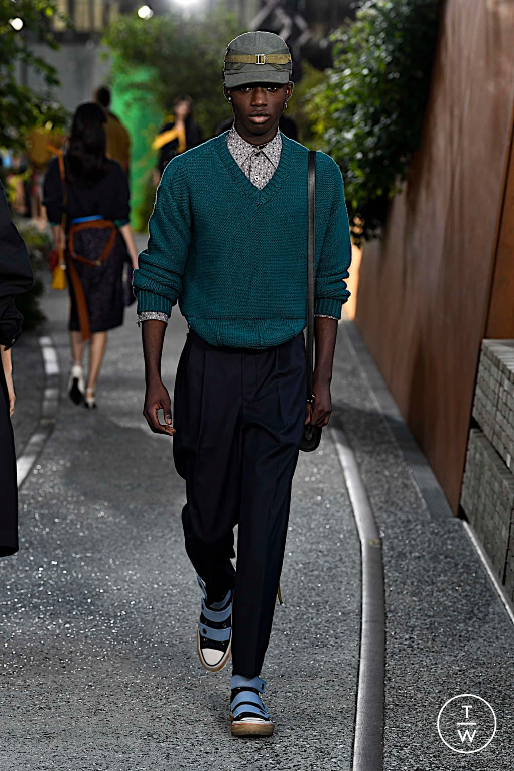 Fashion Week New York Spring/Summer 2020 look 49 de la collection Coach 1941 womenswear