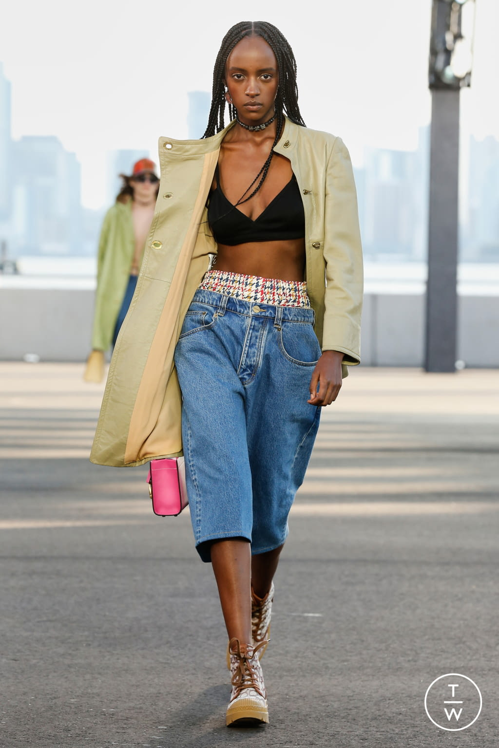 Fashion Week New York Spring/Summer 2022 look 11 from the Coach 1941 collection womenswear