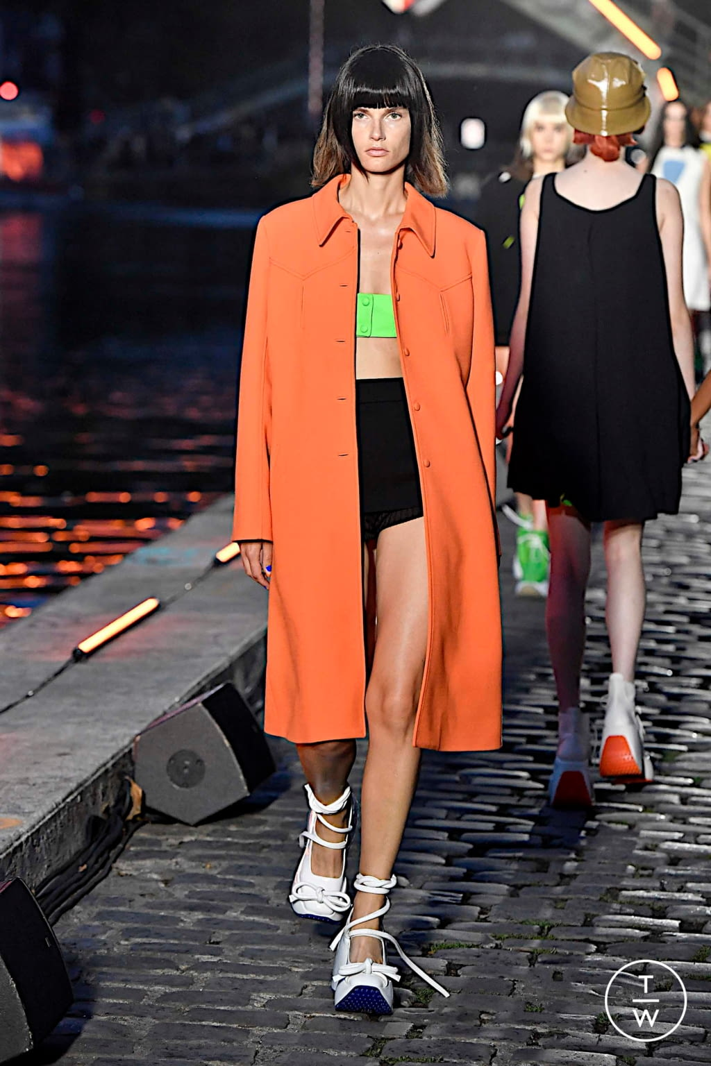 Fashion Week Paris Spring/Summer 2020 look 23 from the Courrèges collection womenswear