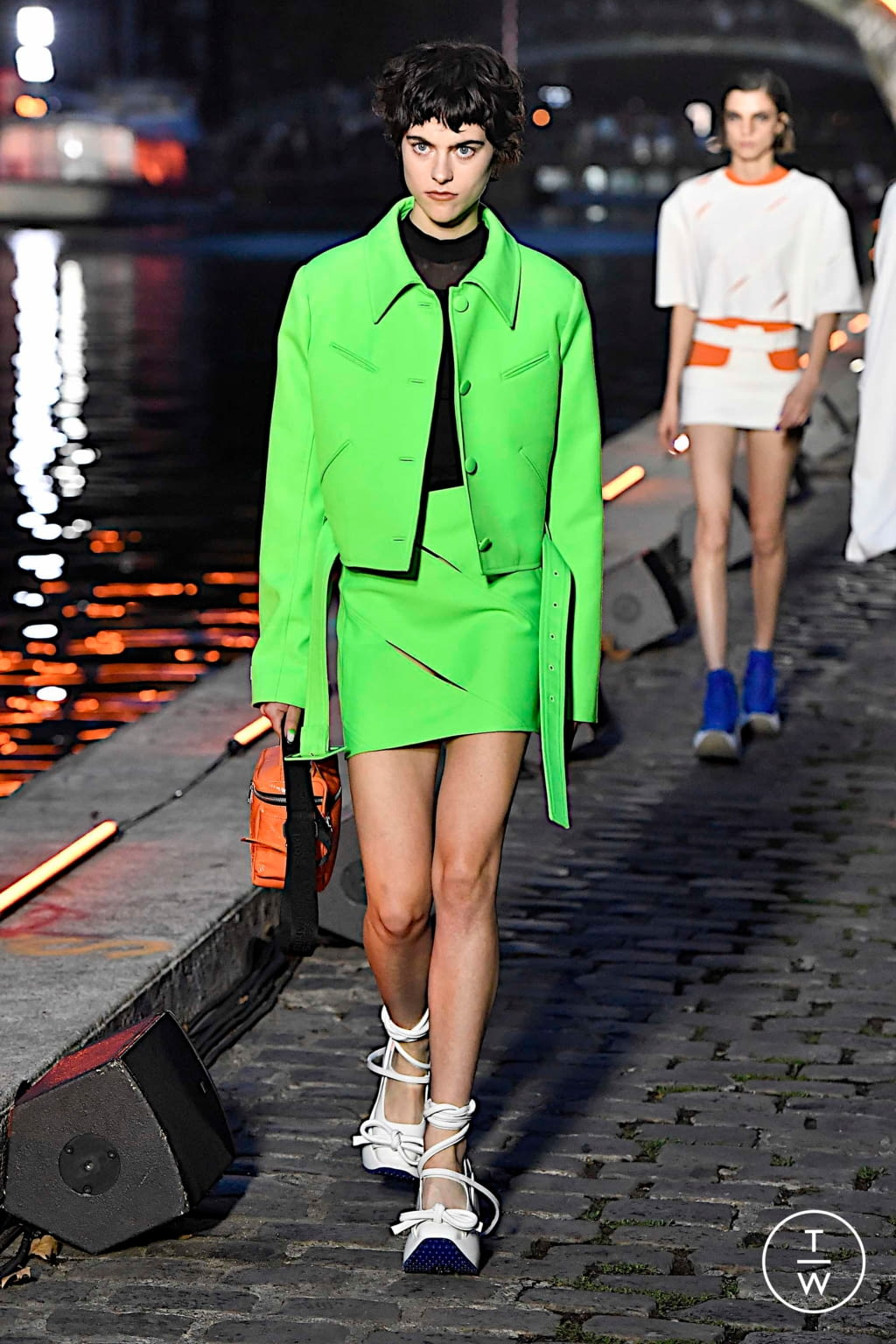 Fashion Week Paris Spring/Summer 2020 look 29 from the Courrèges collection 女装