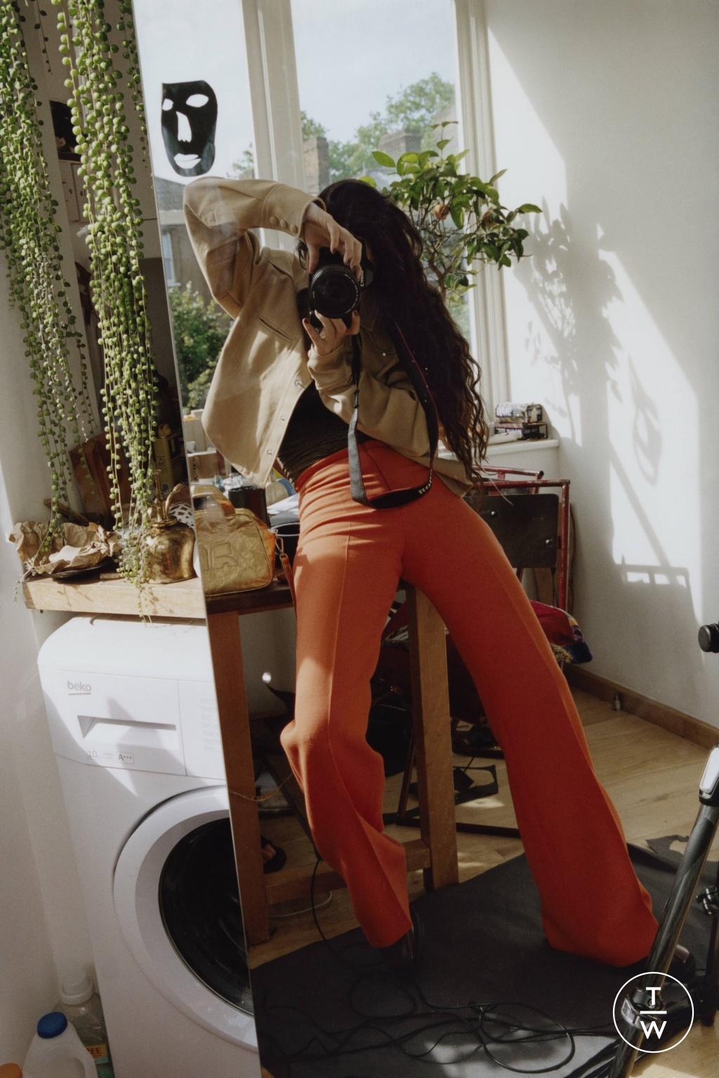 Fashion Week Paris Resort 2020 look 8 de la collection Courrèges womenswear