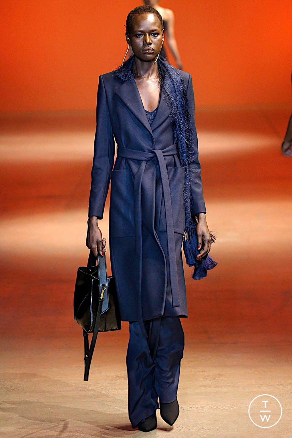 Fashion Week New York Fall/Winter 2019 look 19 de la collection Cushnie womenswear